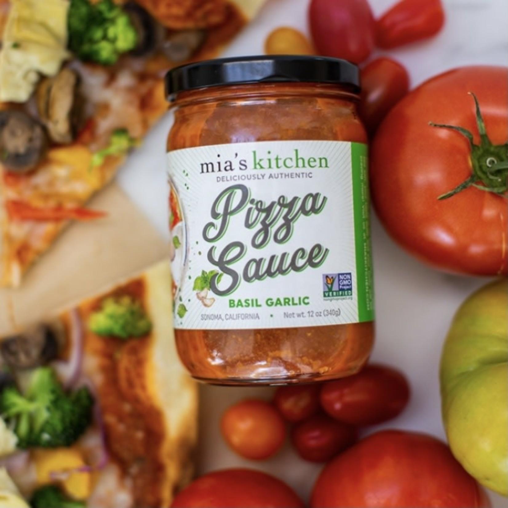 Mia's Kitchen Mia's Kitchen Basil Garlic Pizza Sauce 340ml