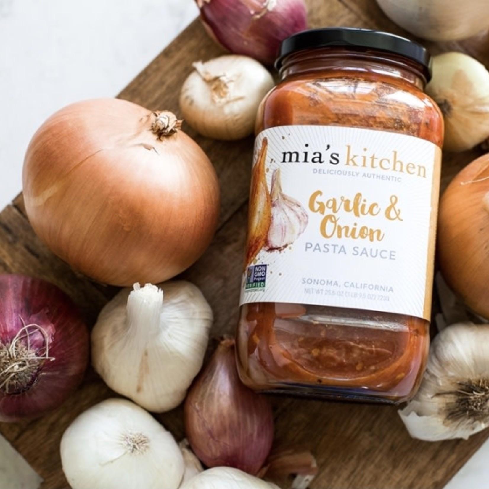 Mia's Kitchen Mia's Kitchen Garlic & Onion Pasta Sauce 710ml