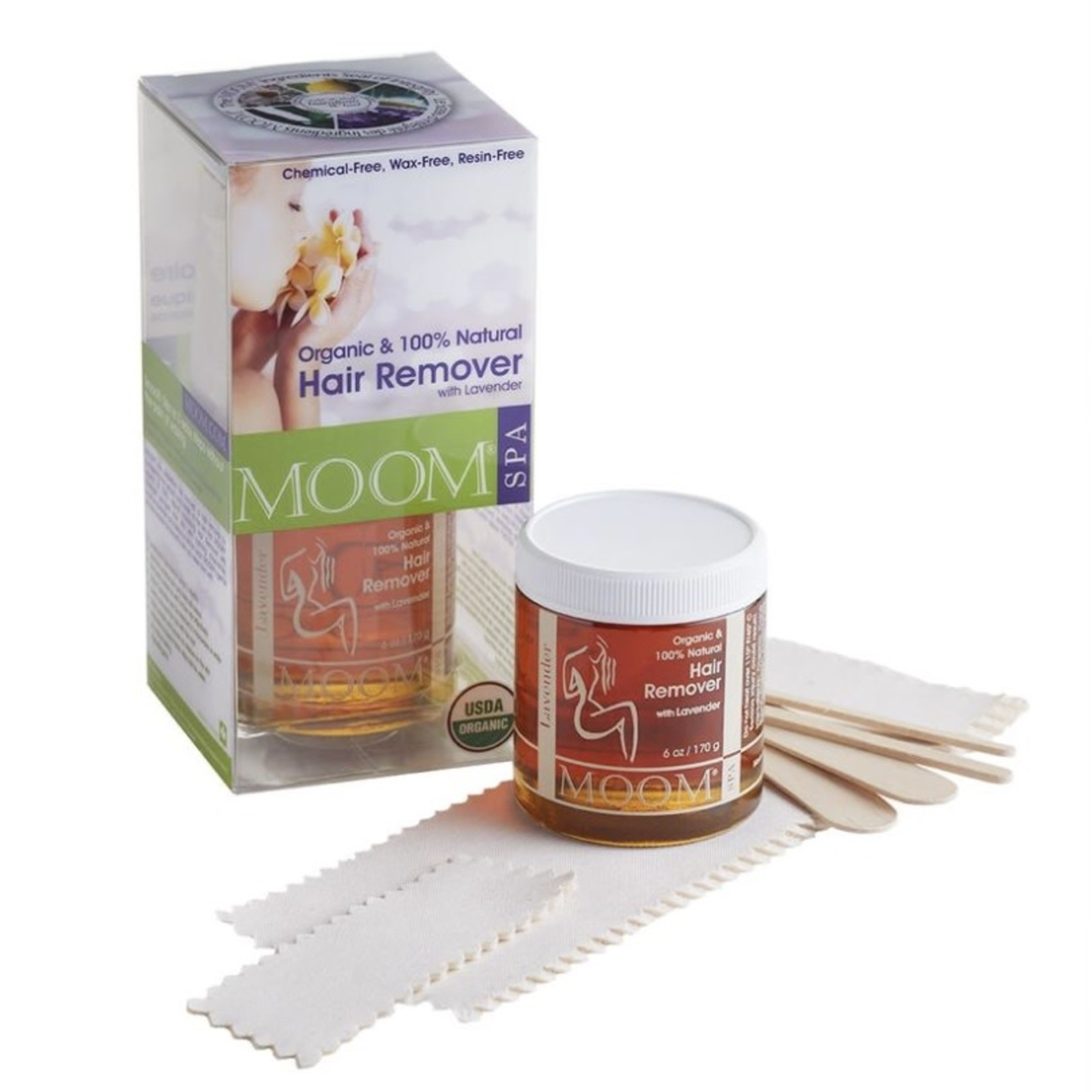 Moom Moom Hair Remover with Lavender