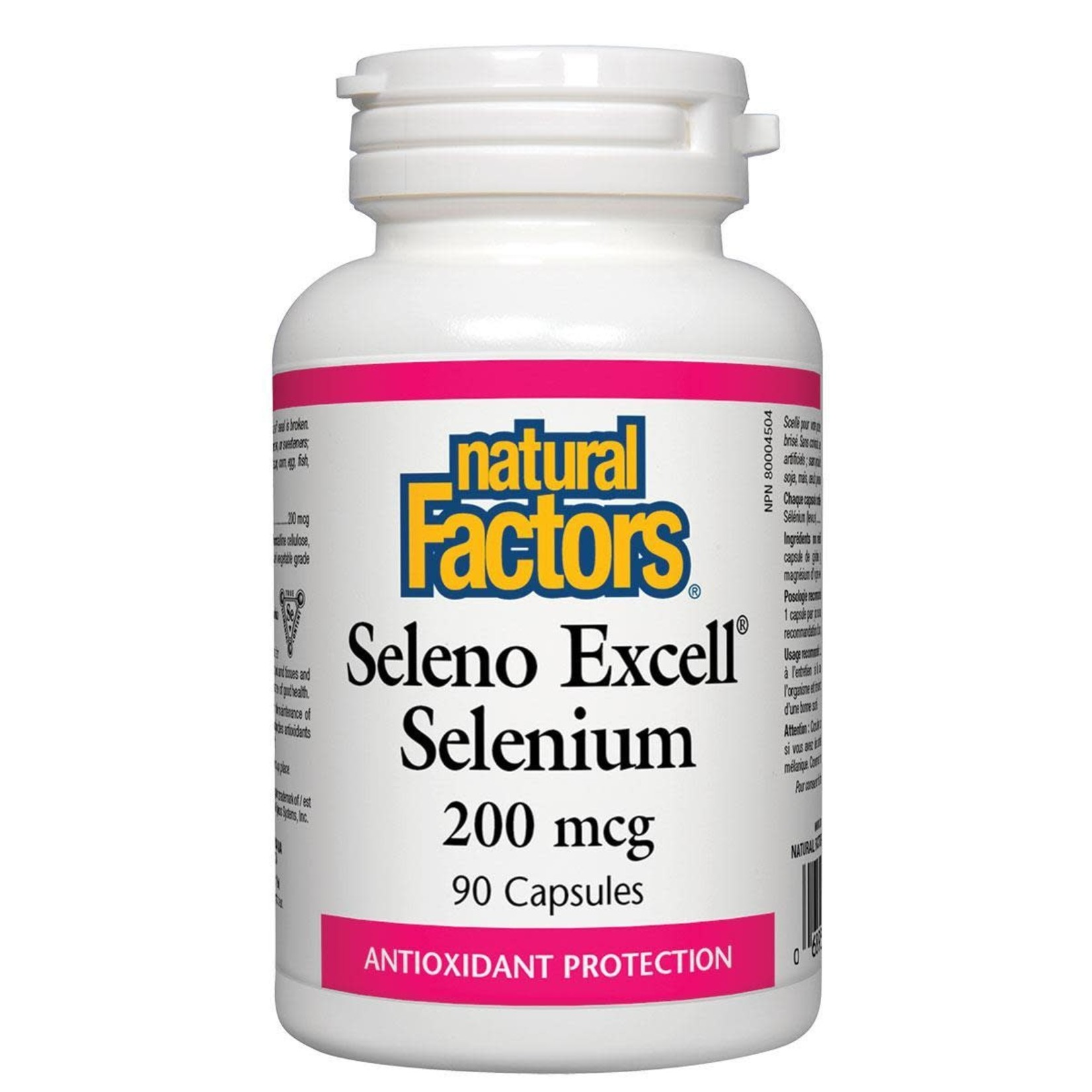 Natural Factors Natural Factors SelenoExcell 200mcg 90 caps