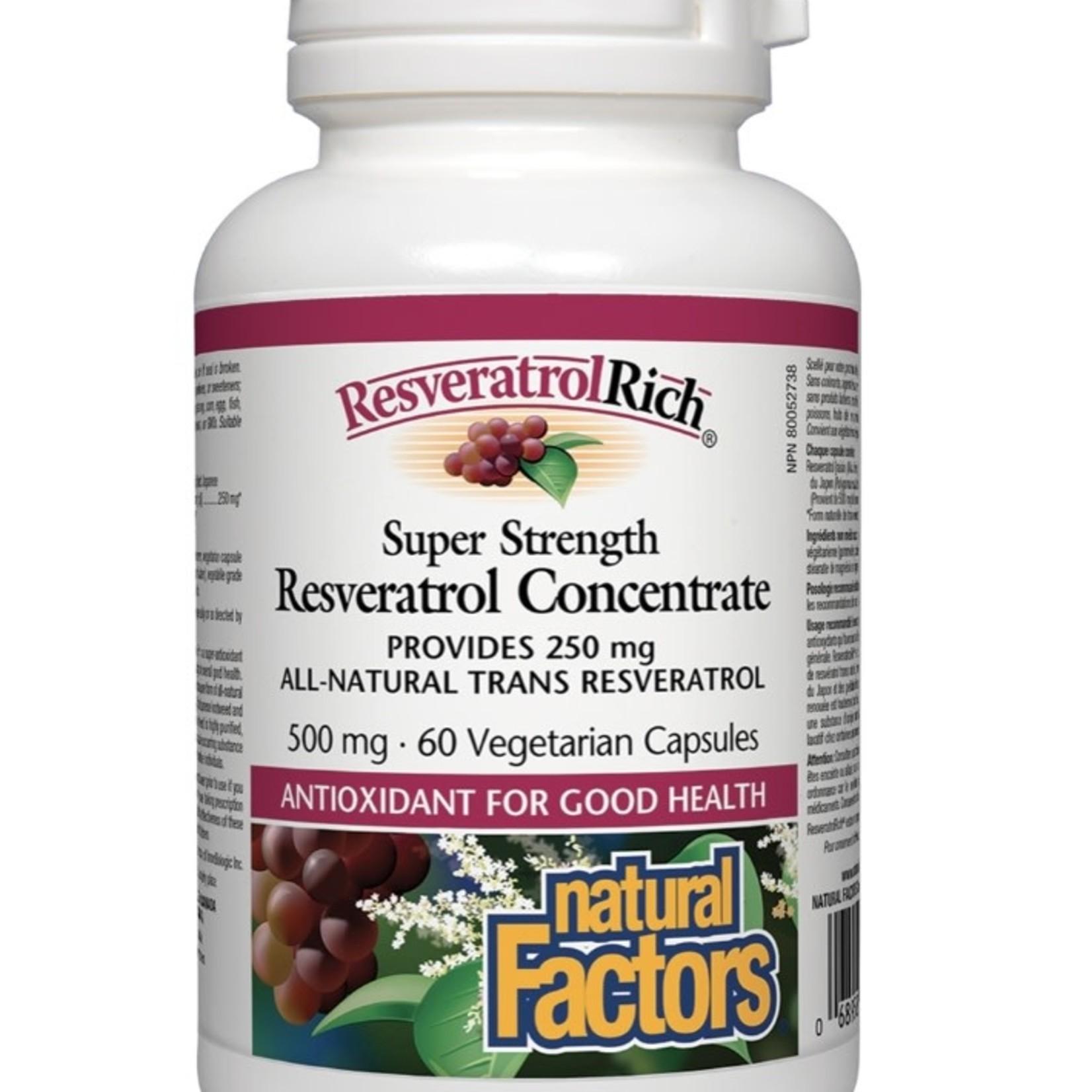 Natural Factors Natural Factors Resveratrol Concentrate 60 caps