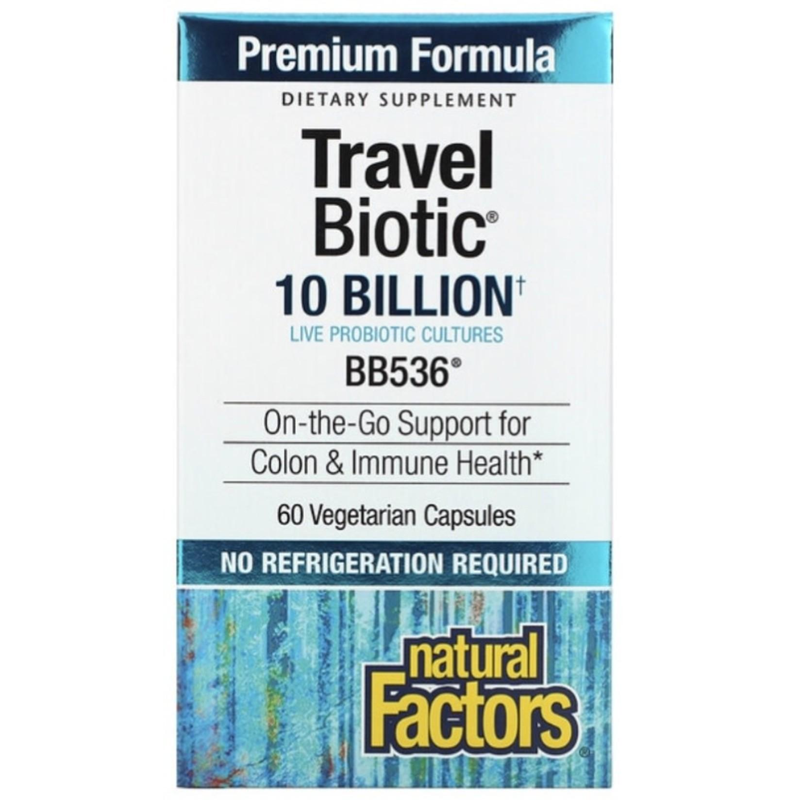 Natural Factors Natural Factors Travel Biotic 60 caps