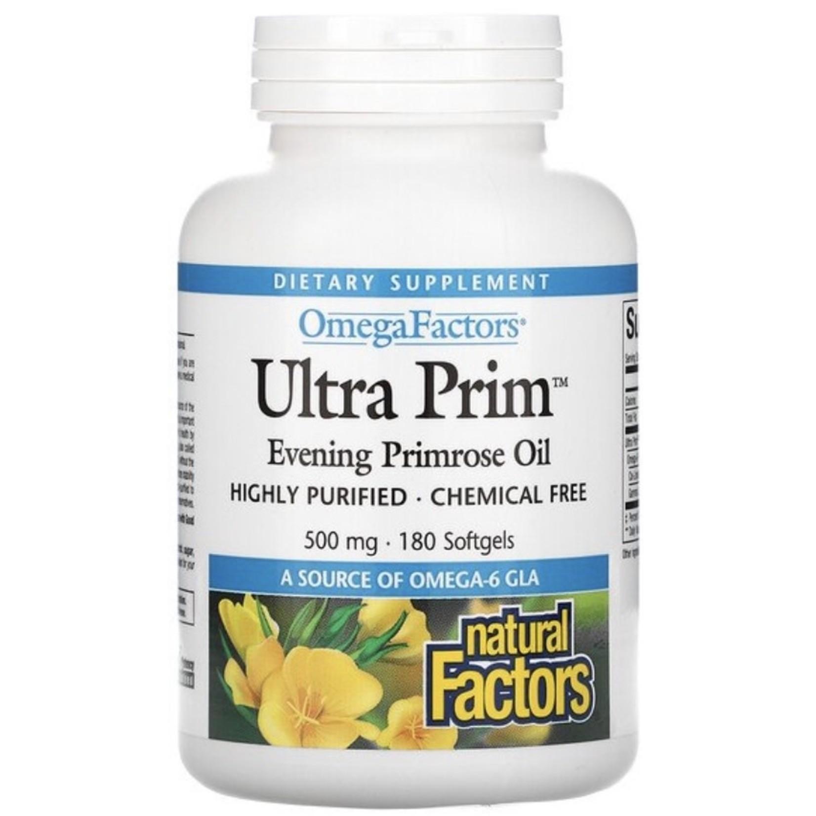 Natural Factors Natural Factors Ultra Prim 500mg 180 softgels