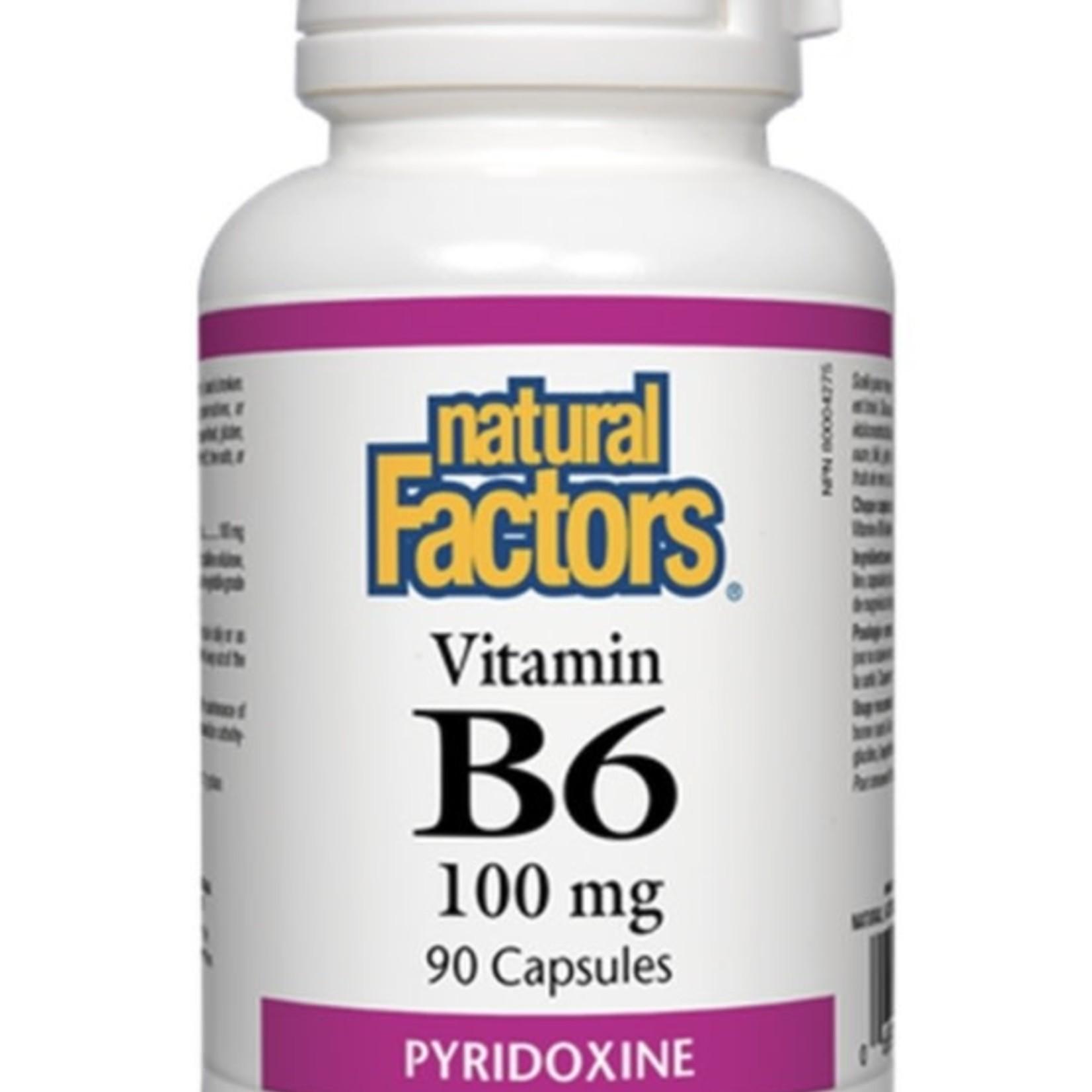 Natural Factors Natural Factors Vitamin B6 100mg 90 caps