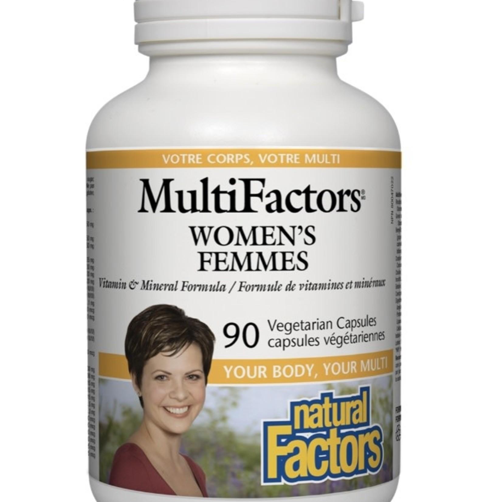 Natural Factors Natural Factors MultiFactors Women's 90 caps