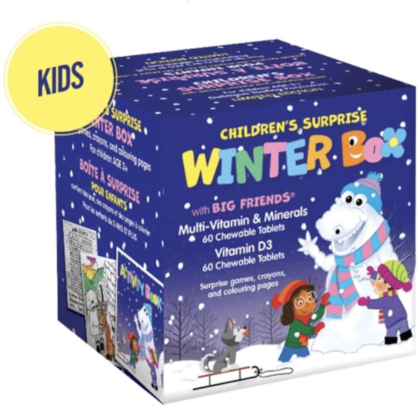 Natural Factors Children's Surprise Winter Box