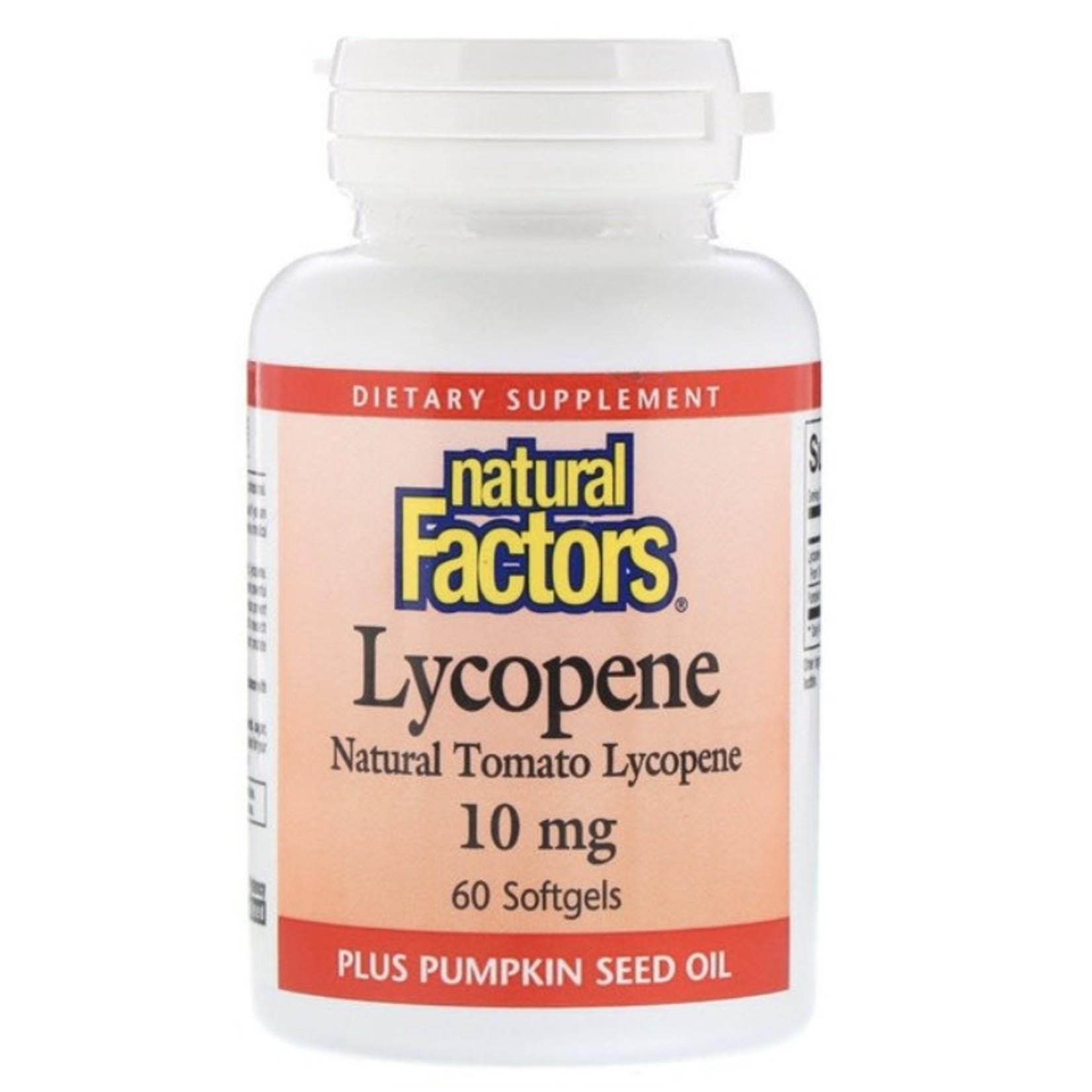 Natural Factors Natural Factors Lycopene 60 softgels