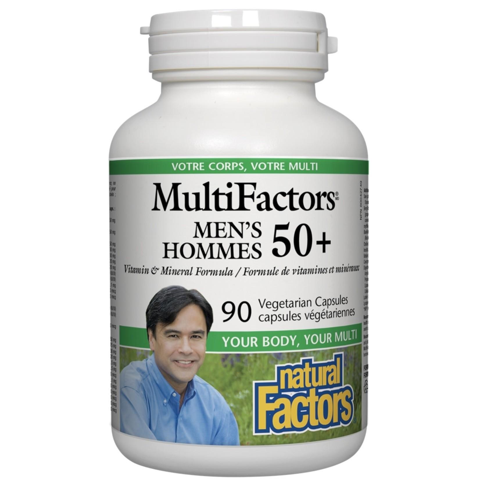 Natural Factors Natural Factors Multifactors Men's 50+ 90 caps