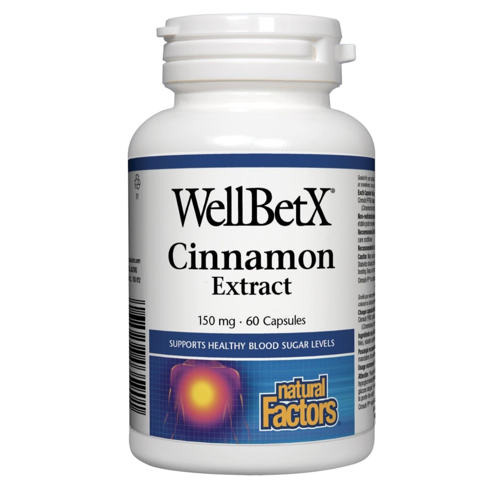 Natural Factors Natural Factors Cinnamon Extract 150mg 60 caps