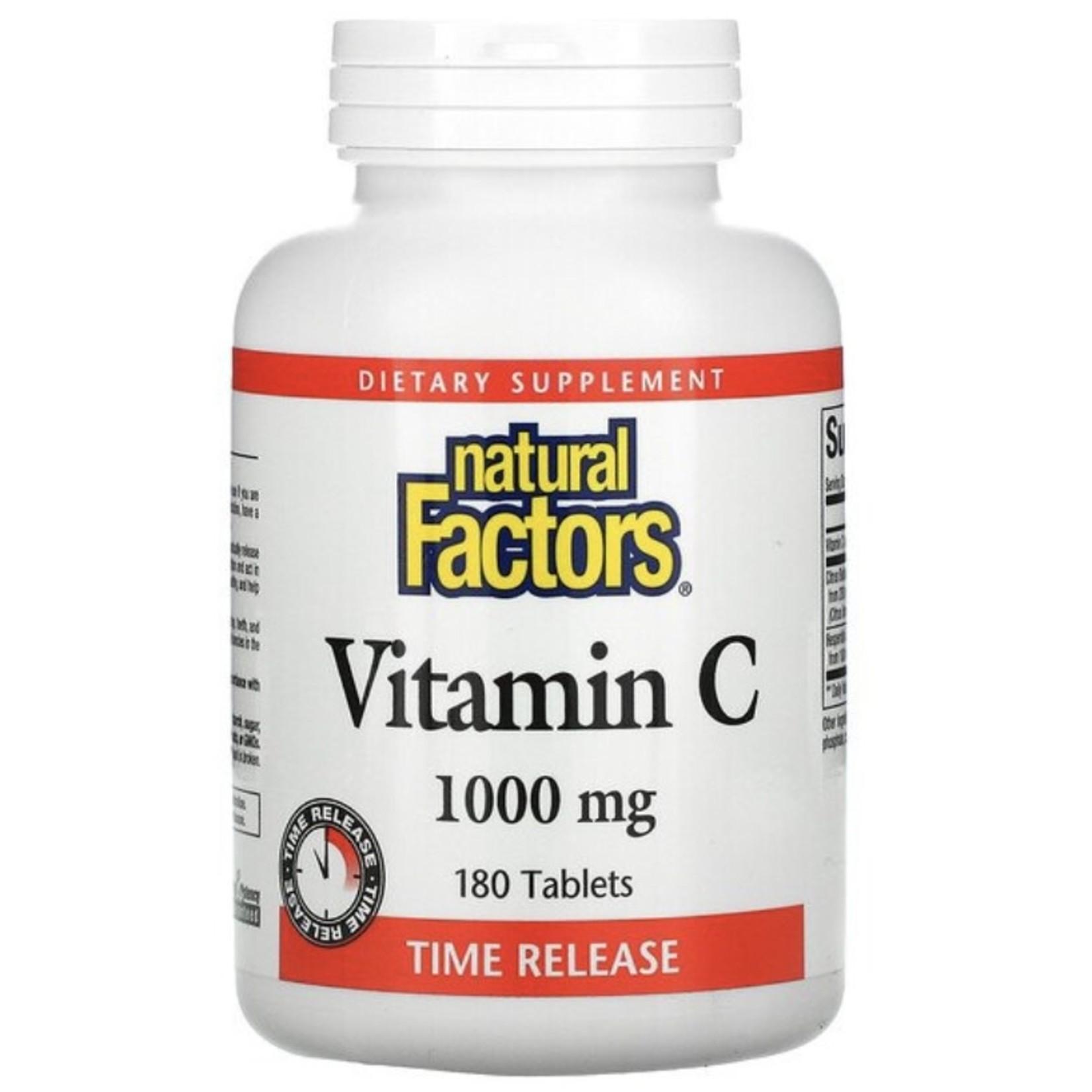 Natural Factors Natural Factors Vitamin C 1000mg 180 tabs