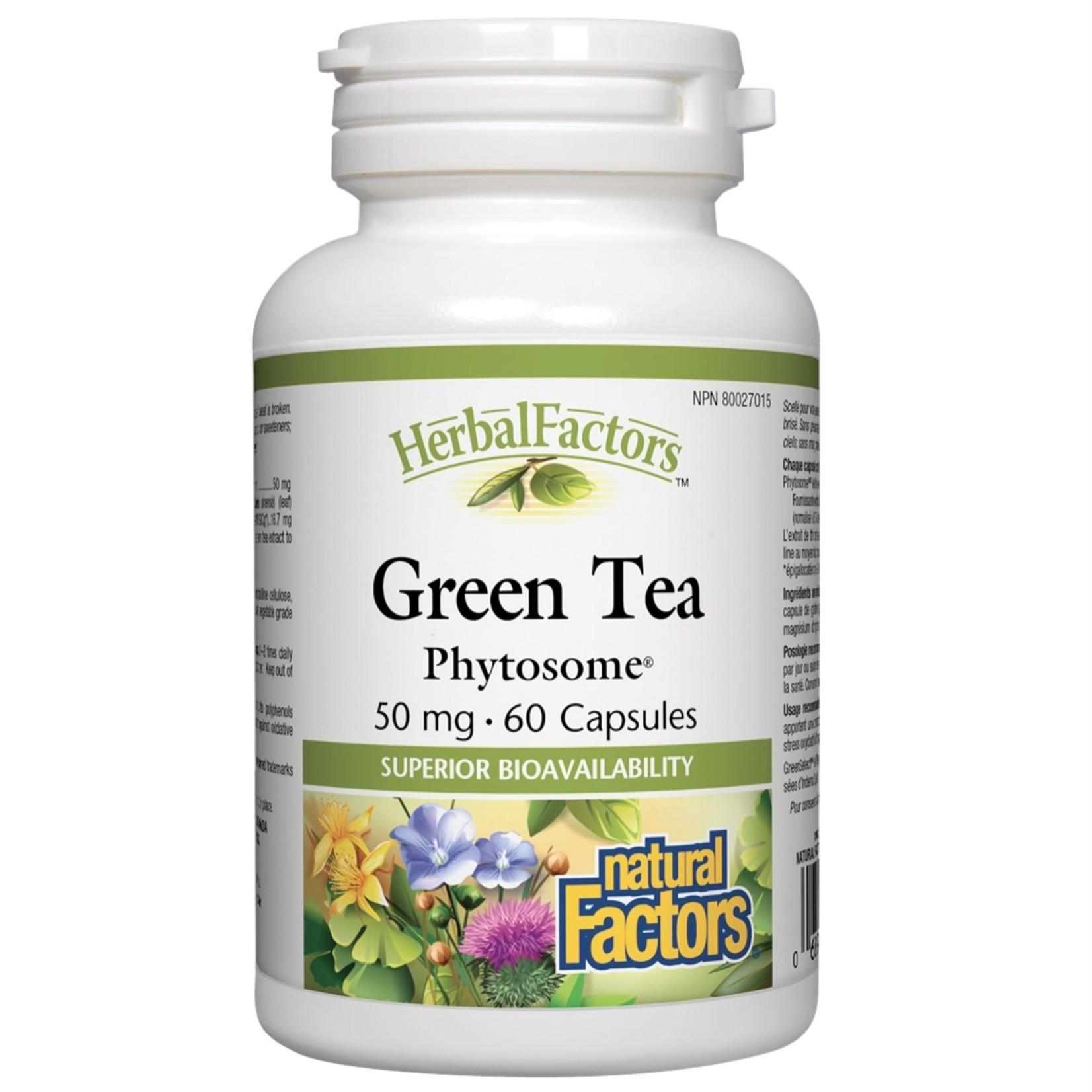 Natural Factors Natural Factors Green Tea Phytosome 50 mg 60 caps