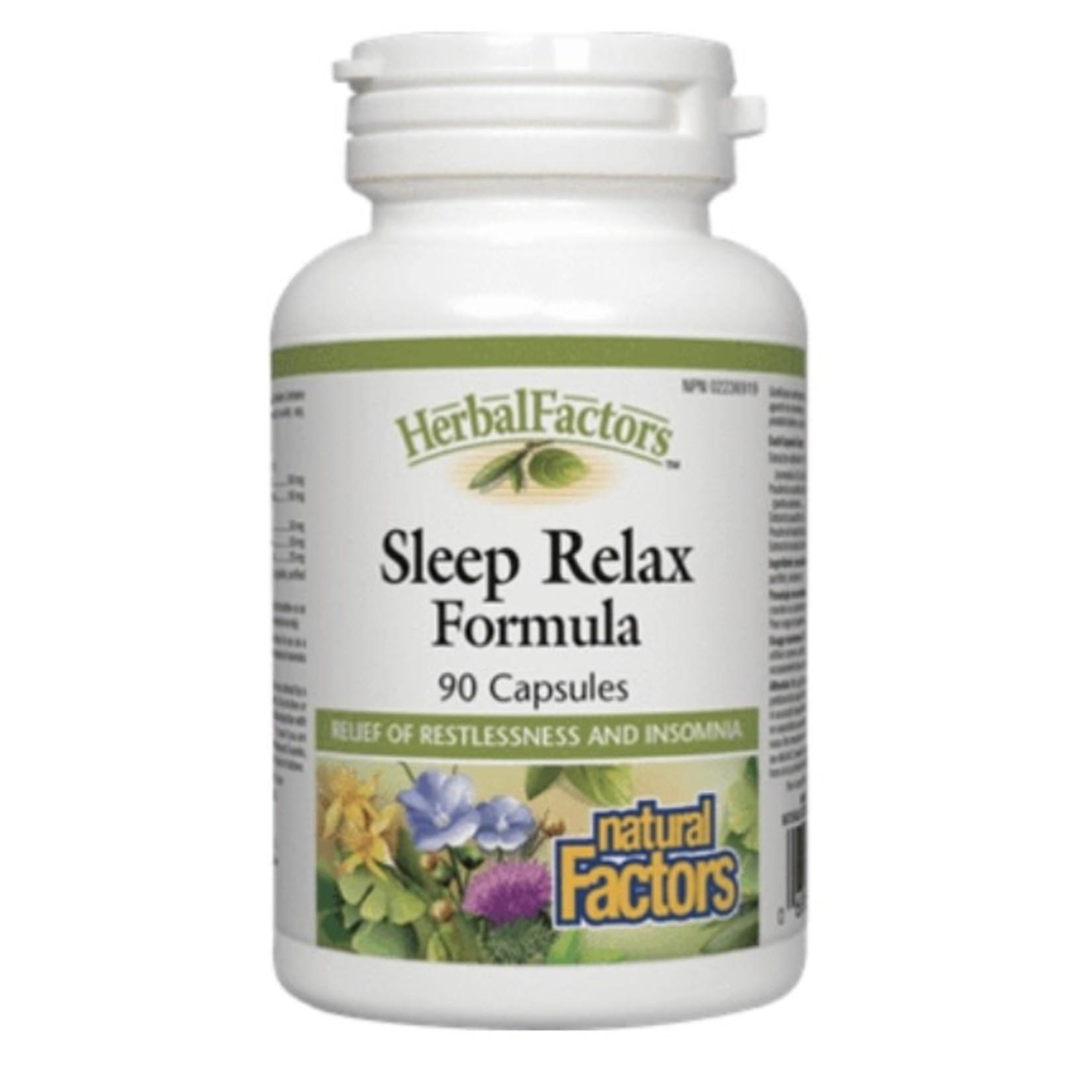 Natural Factors Natural Factors Sleep Relax Formula 90 caps