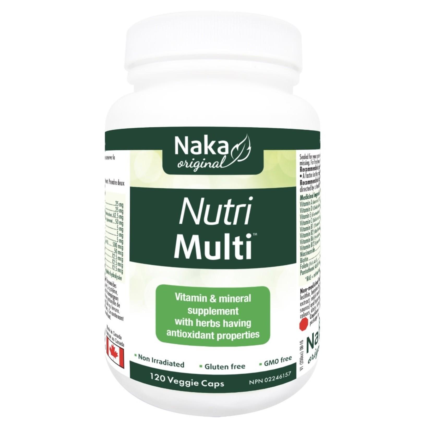 Naka Naka Nutri Multi 120 caps