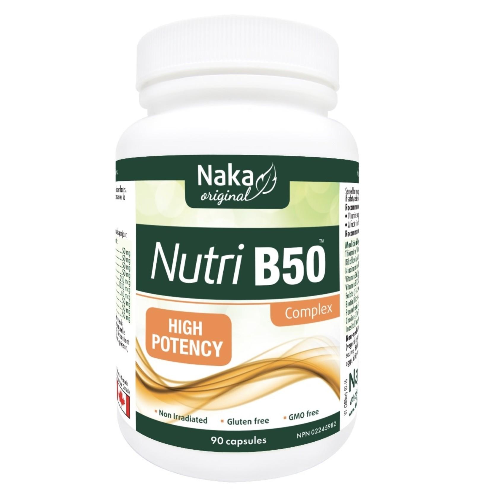 Naka Naka Nutri B50 90 caps