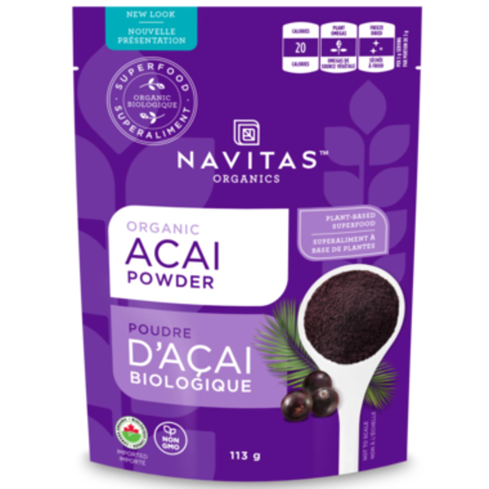 Navitas Navitas Organic Açai Powder 113g