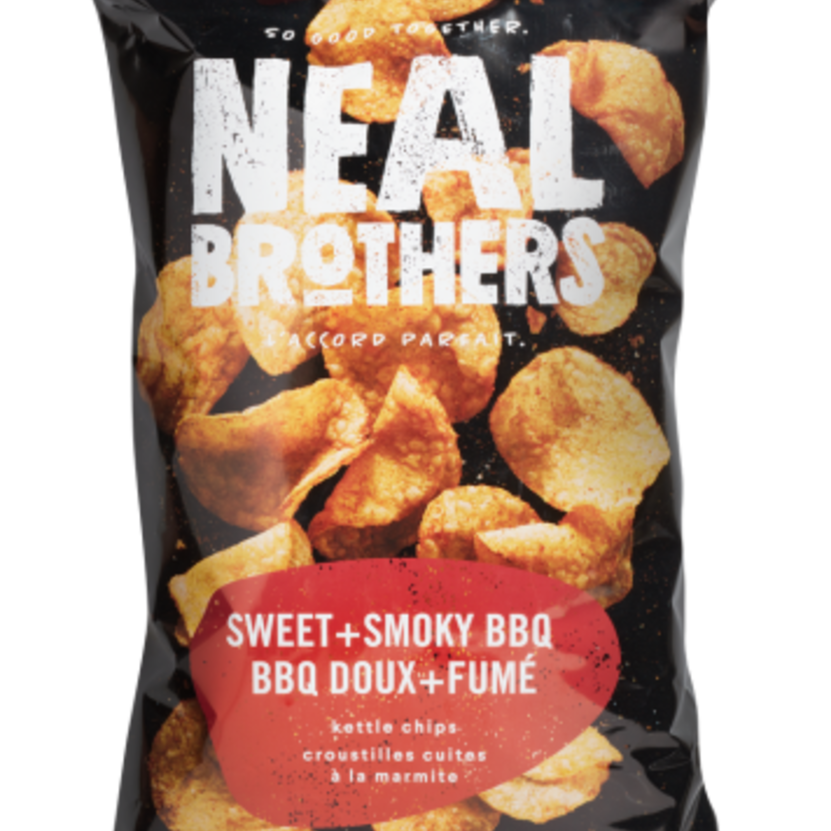 Neal Brothers Neal Brothers Sweet + Smokey BBQ Kettle Chips