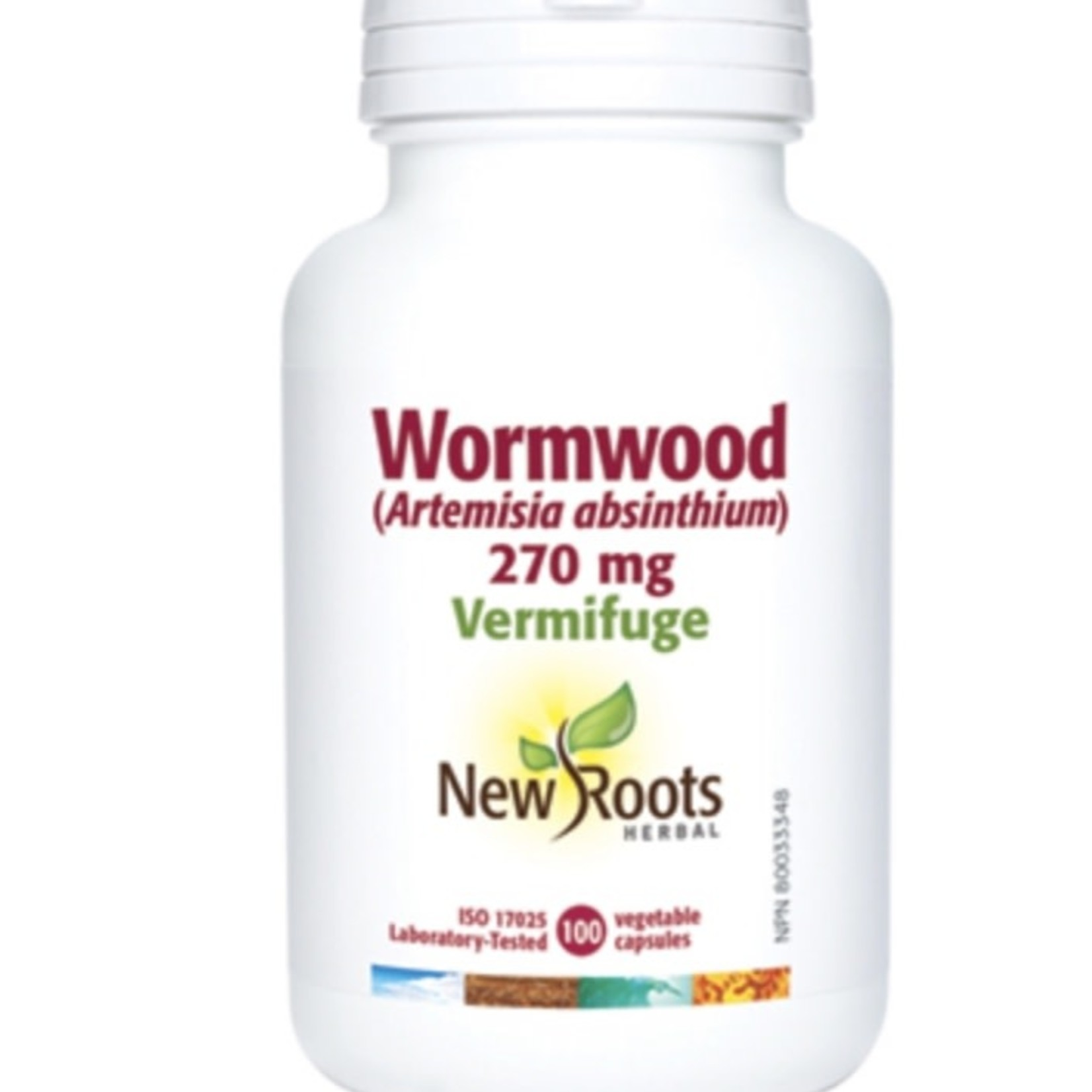 New Roots New Roots Wormwood 270mg 100 caps