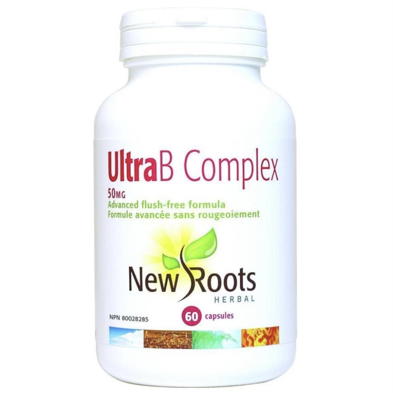 New Roots New Roots Ultra B Complex 50mg 60 caps