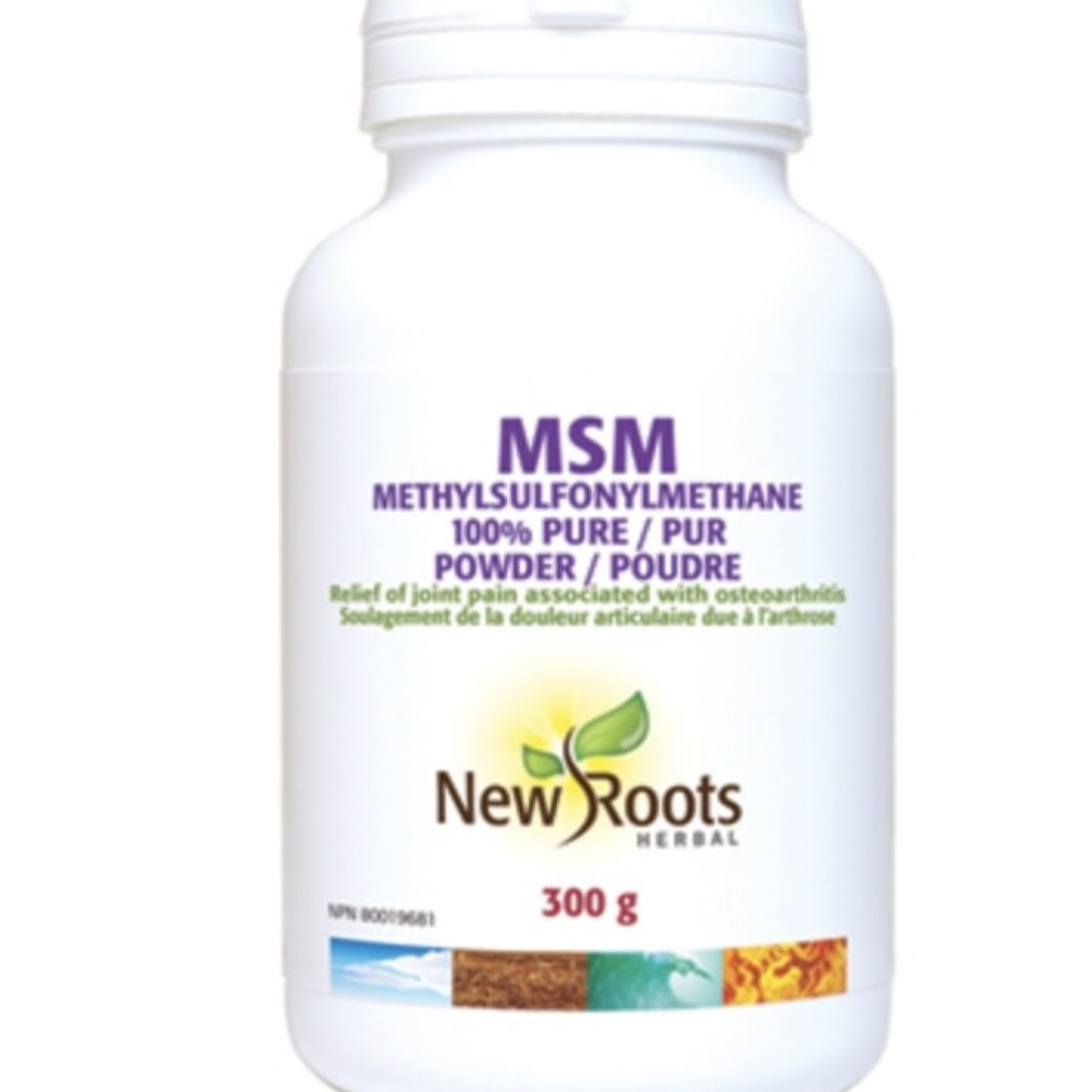 New Roots New Roots MSM 300g