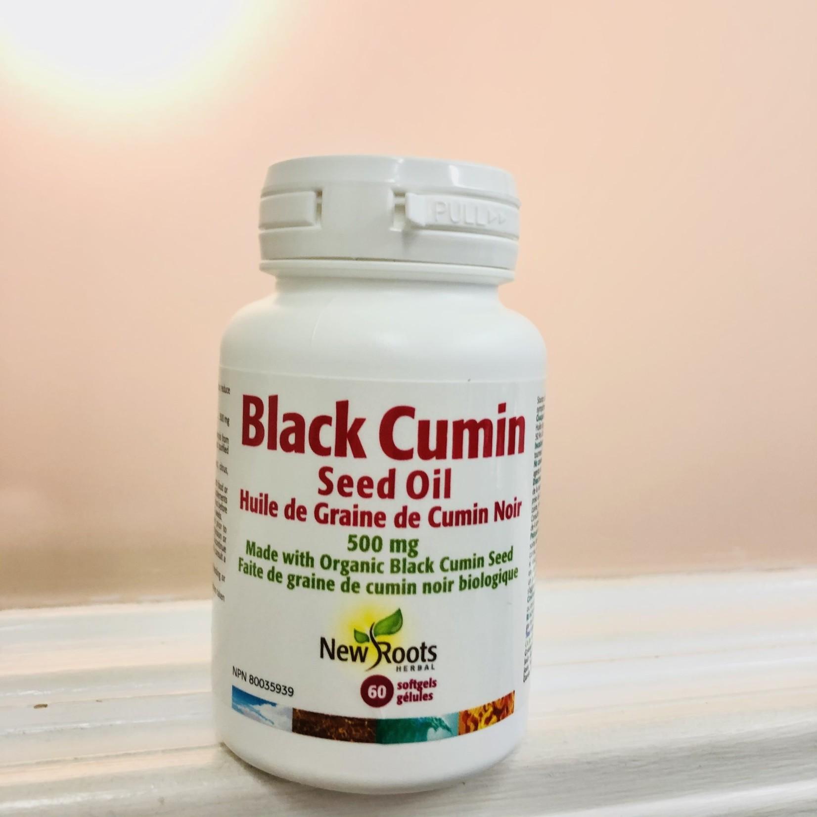 New Roots New Roots Black Cumin Seed Oil 60 softgels