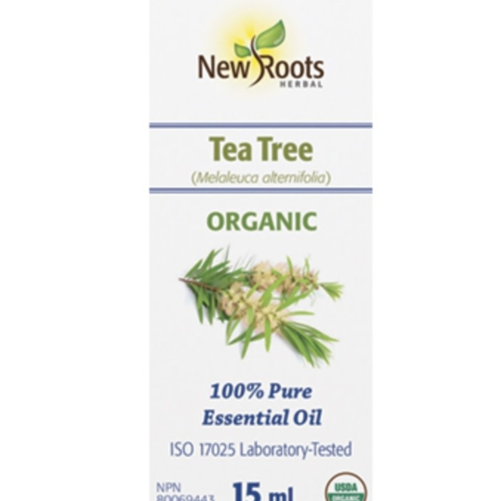 New Roots New Roots Organic Tea Tree Essential Oil 15ml