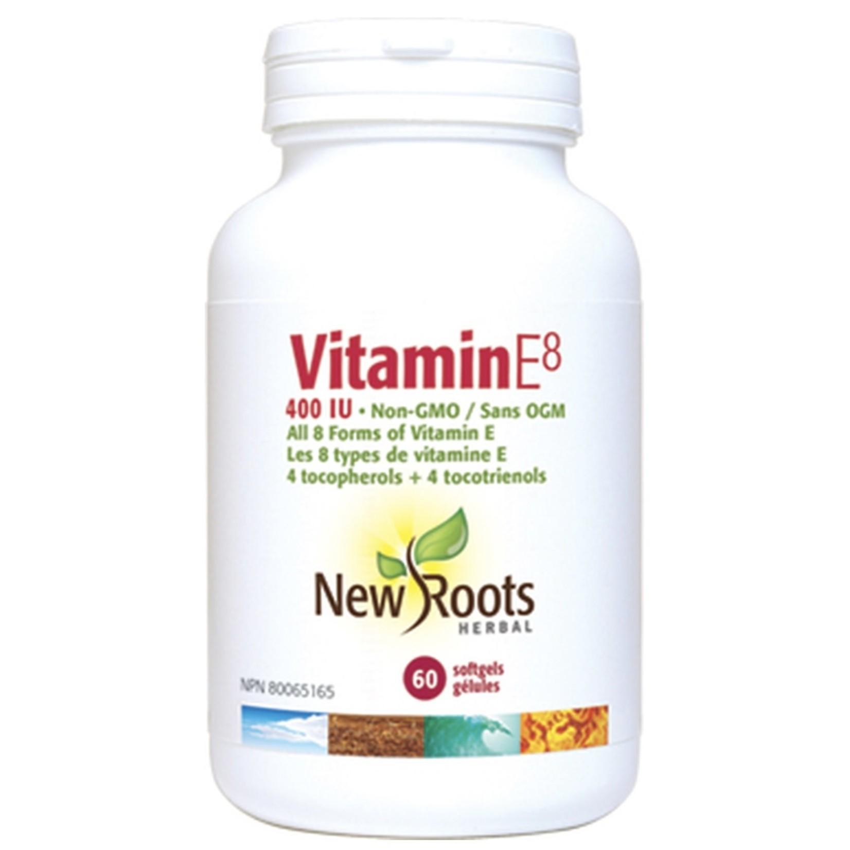 New Roots New Roots Vitamin E8 400IU 60 softgels