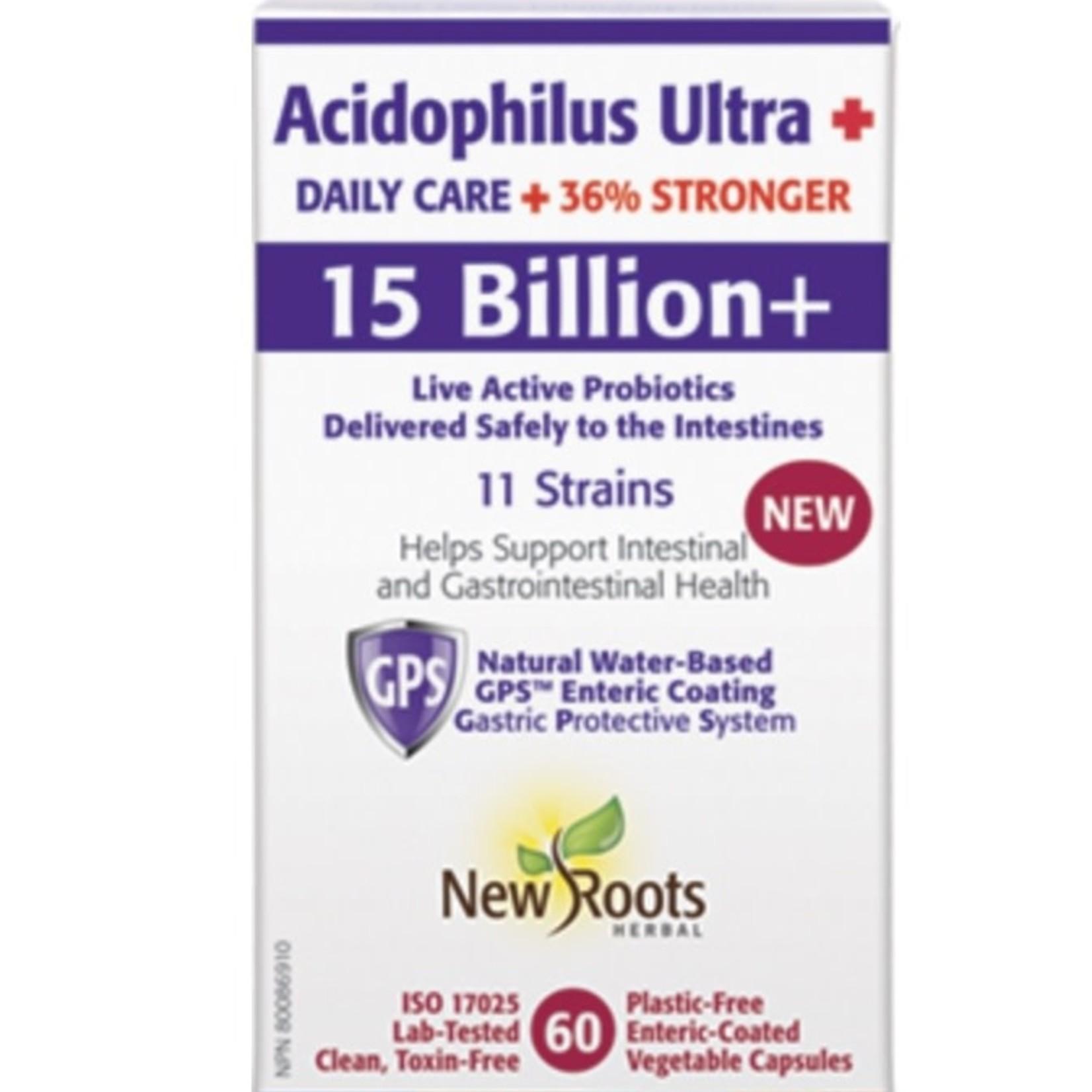 New Roots New Roots Acidophilus Ultra 15 billion 60 caps
