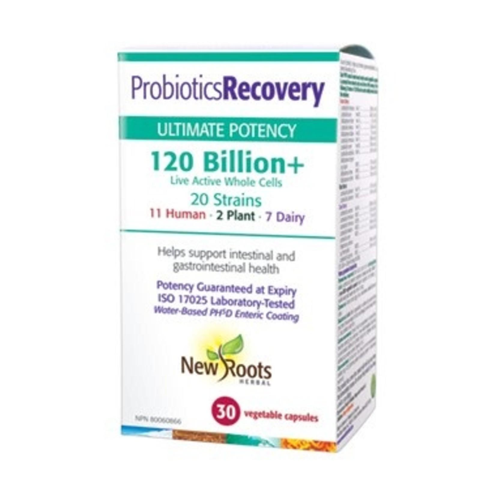 New Roots New Roots Probiotics Recovery 120 billion 30 caps