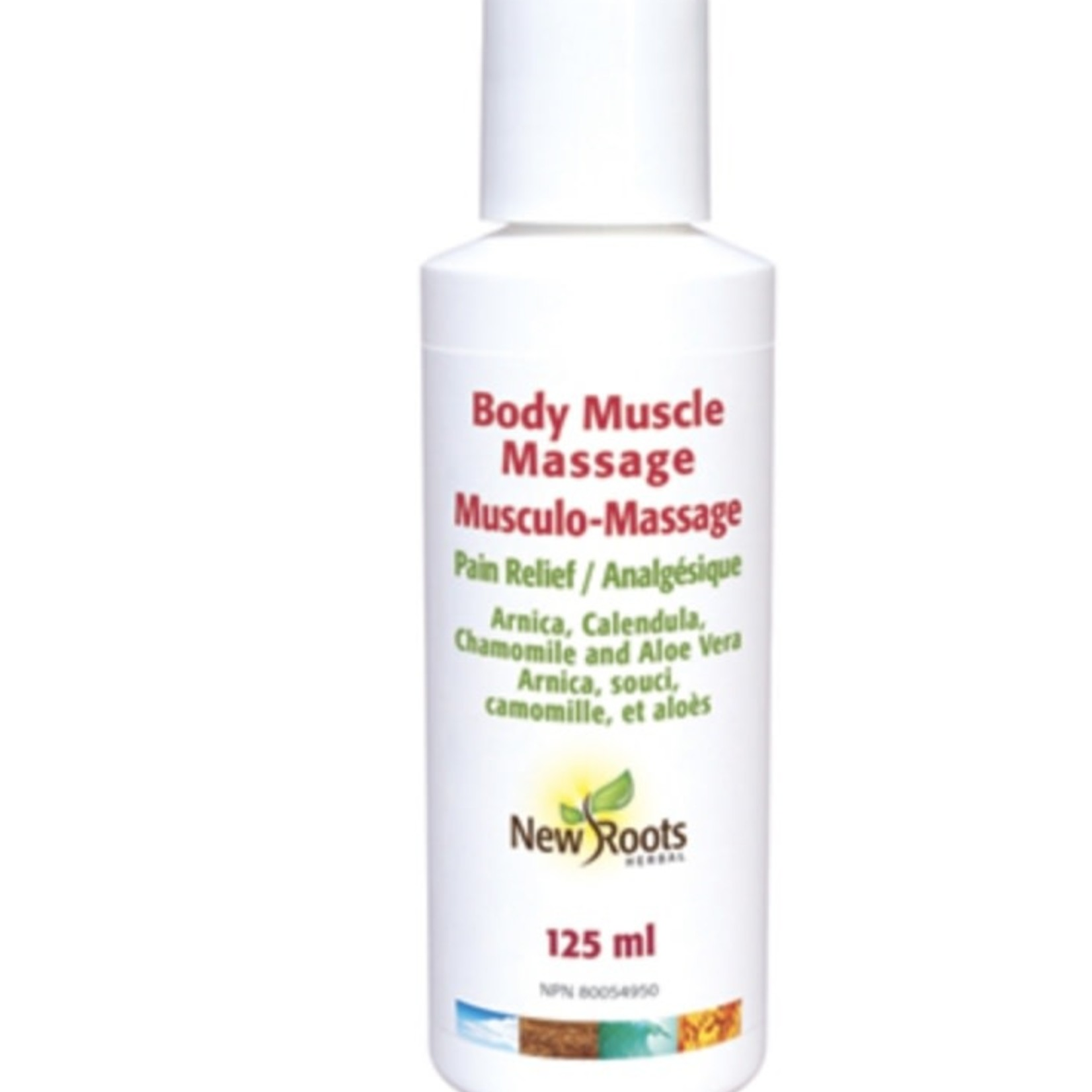 New Roots New Roots Body Muscle Massage 125ml