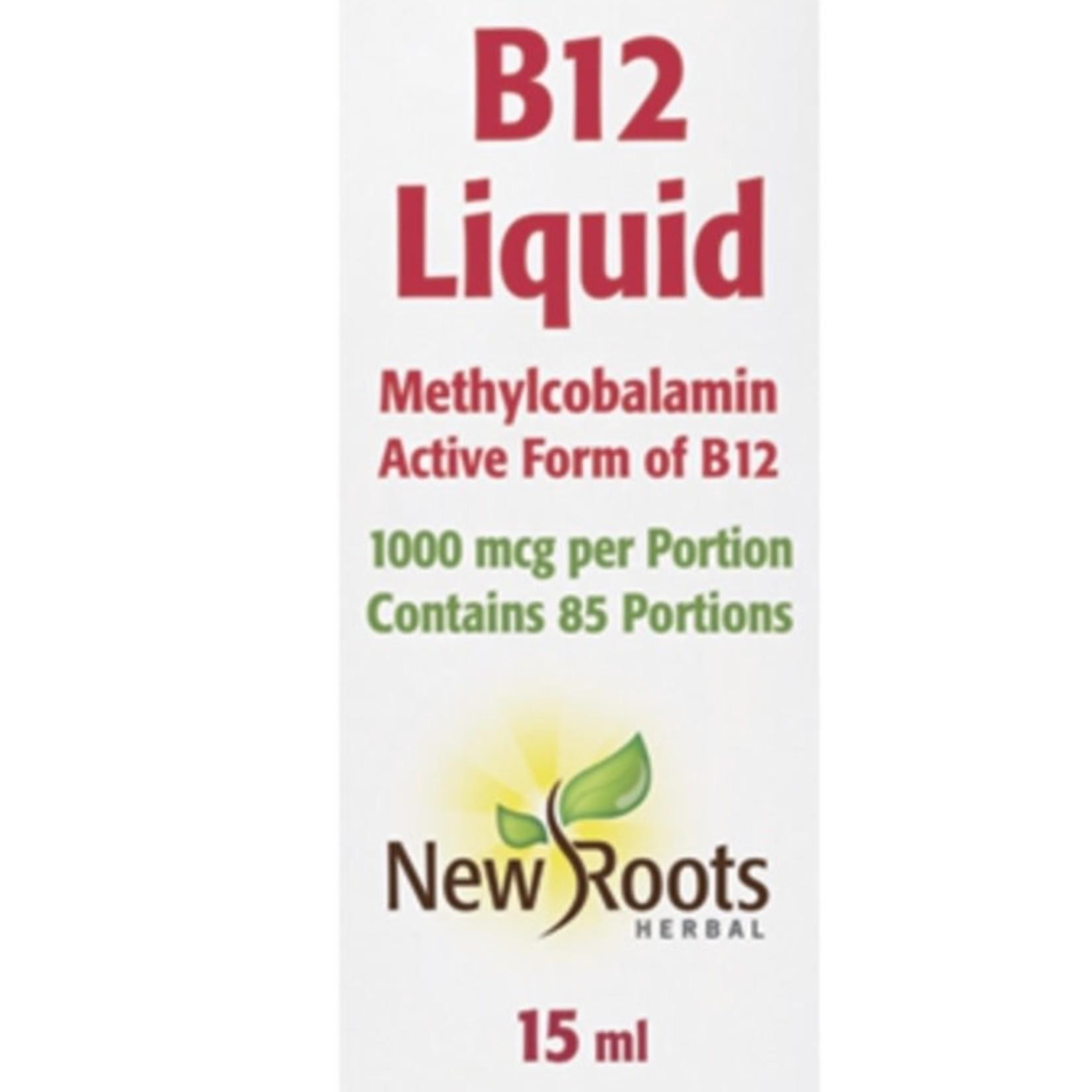 New Roots New Roots B12 Liquid 15ml