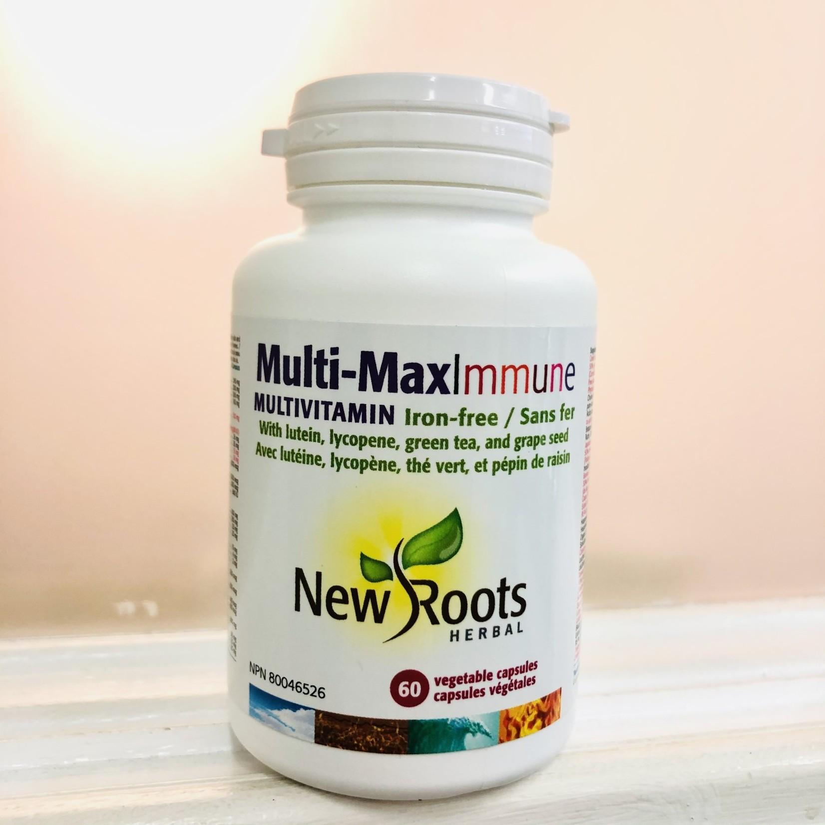 New Roots New Roots Multi-MaxImmune Multivitamin 60 caps