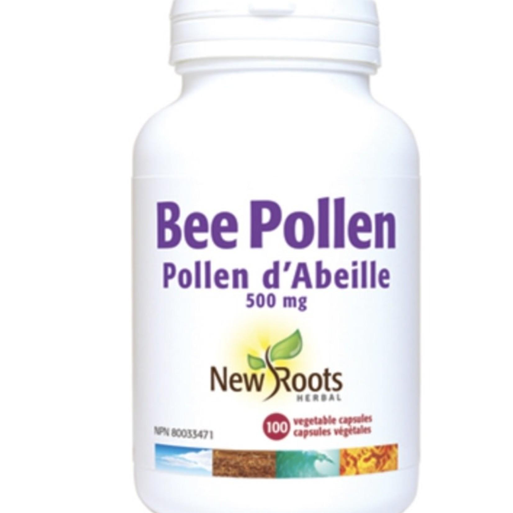 New Roots New Roots Bee Pollen 500mg 100 caps