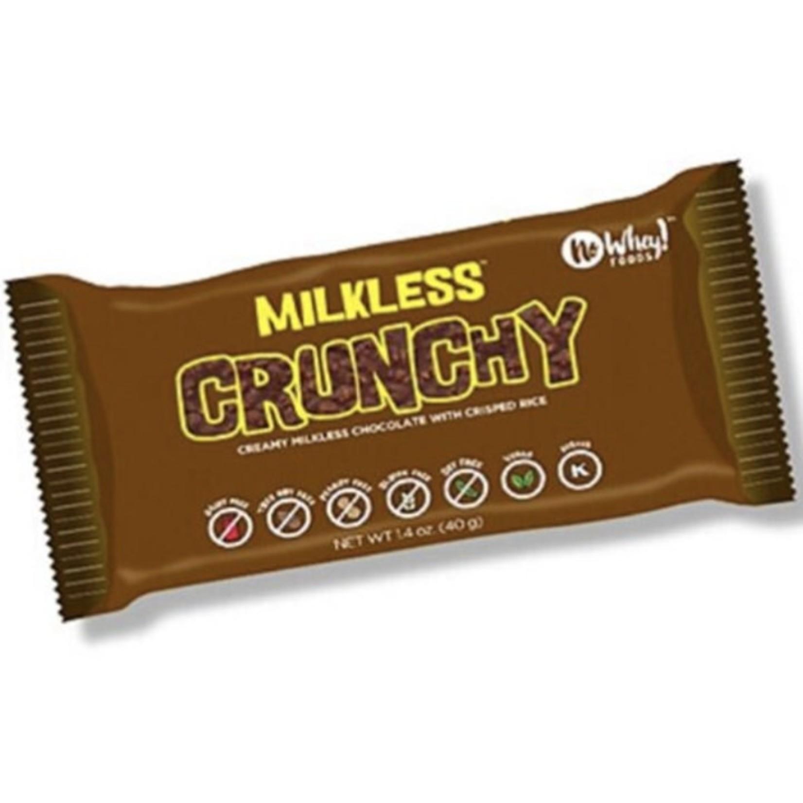 No Whey! No Whey! Milkless Crunchy Bar