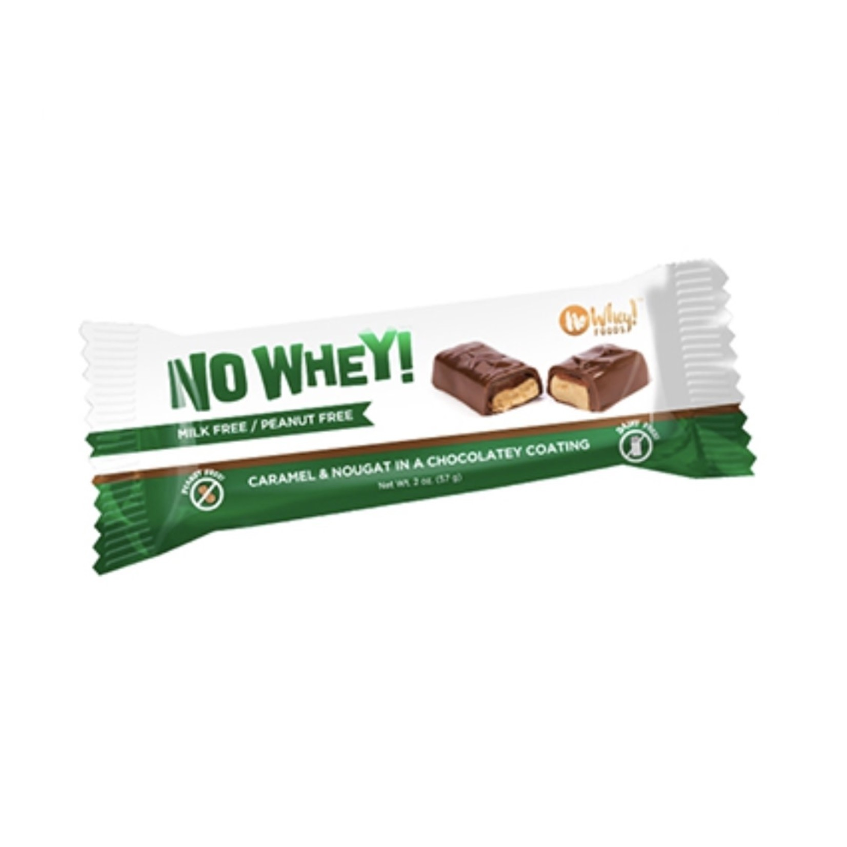 No Whey! No Whey! Caramel & Nougat Bar