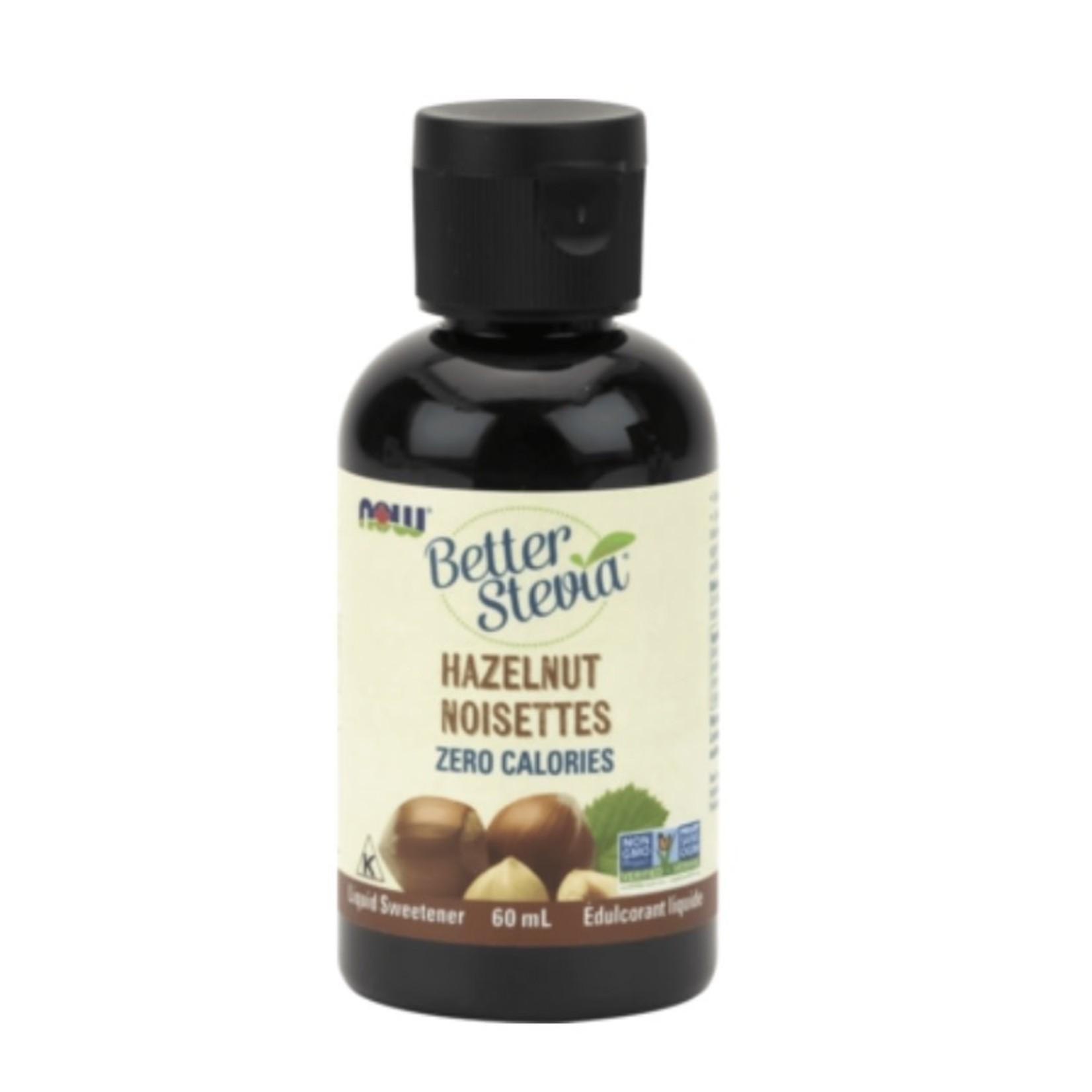 Now Now Better Stevia Hazelnut 60ml