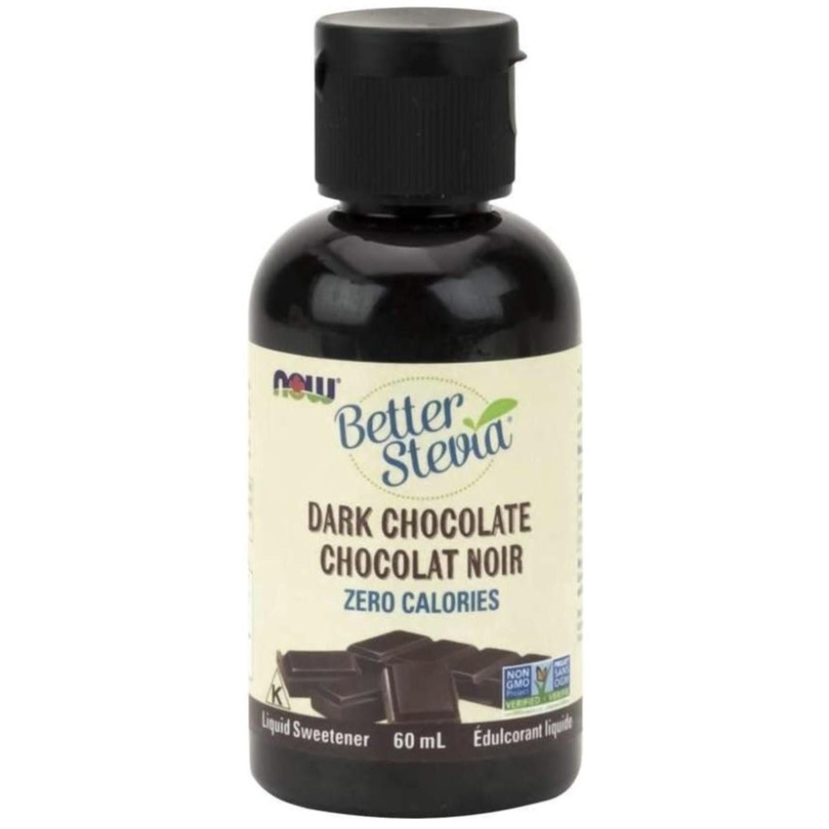 Now Now Better Stevia Dark Chocolate 60ml