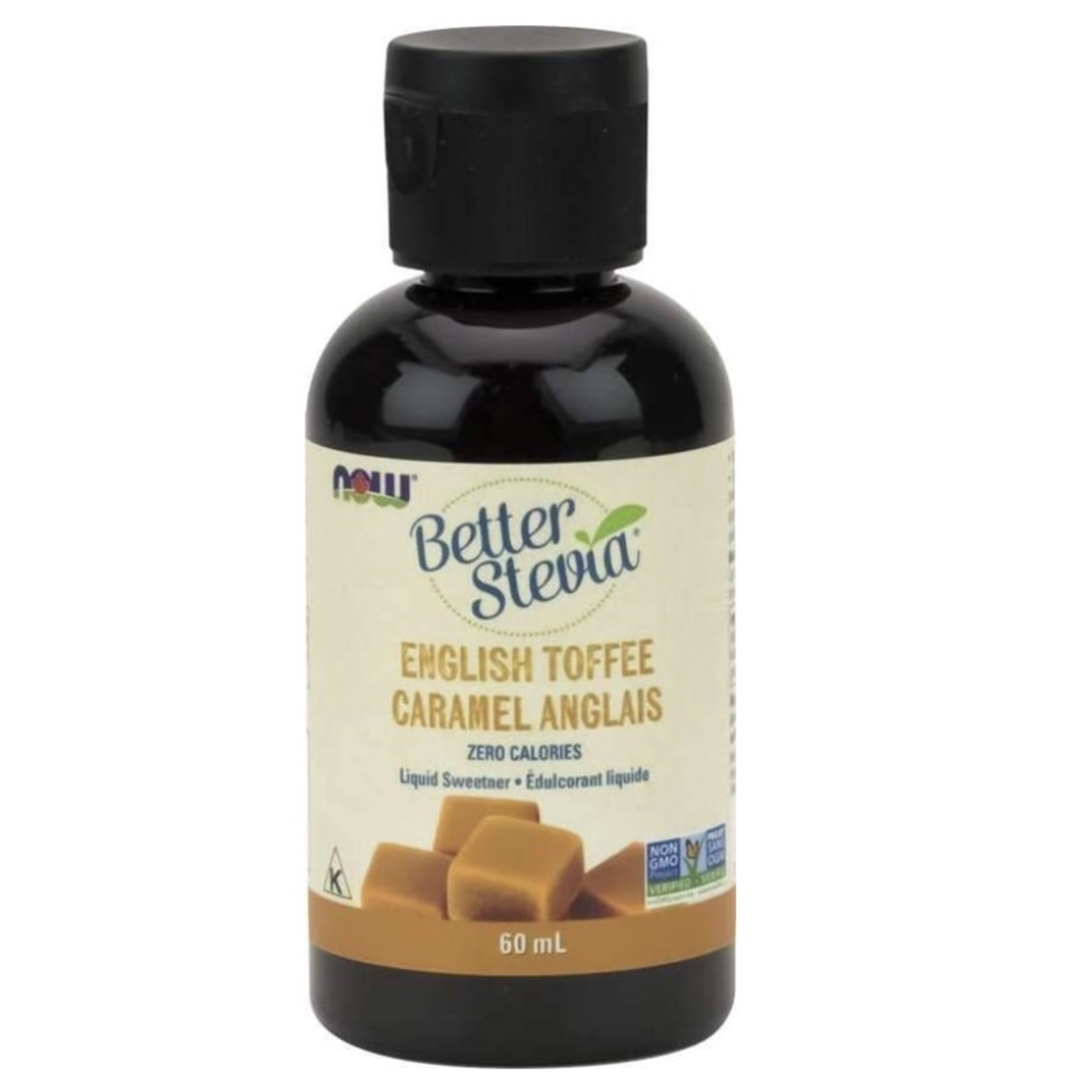 Now Better Stevia English Toffee 60ml