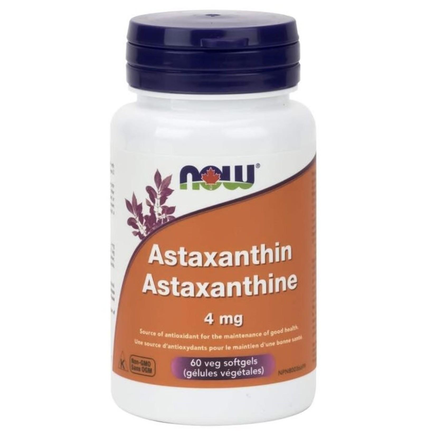 Now Now Astaxanthin 4mg 60 soft gels