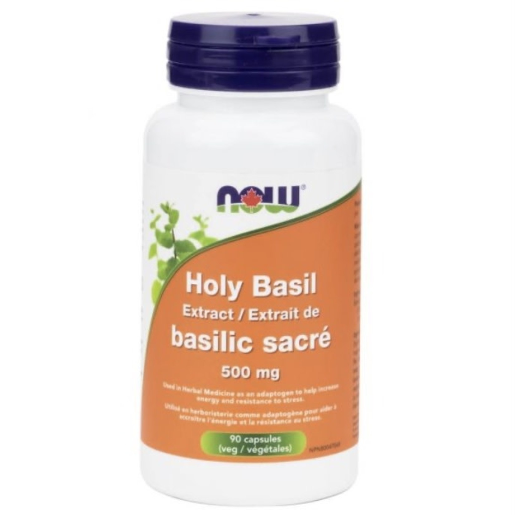 Now Now Holy Basil 500mg 90 caps