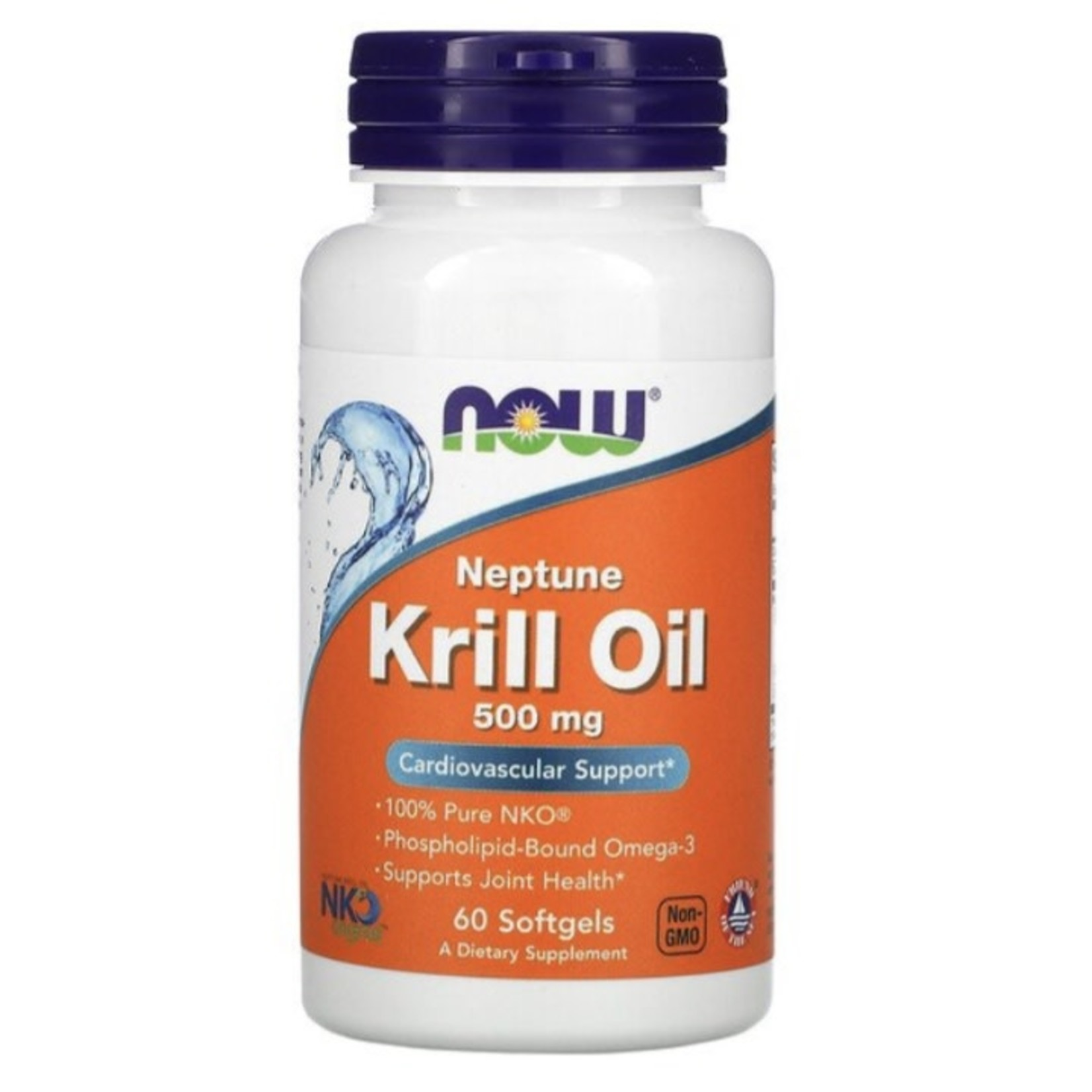 Now Now Krill Oil 500mg 60 softgels