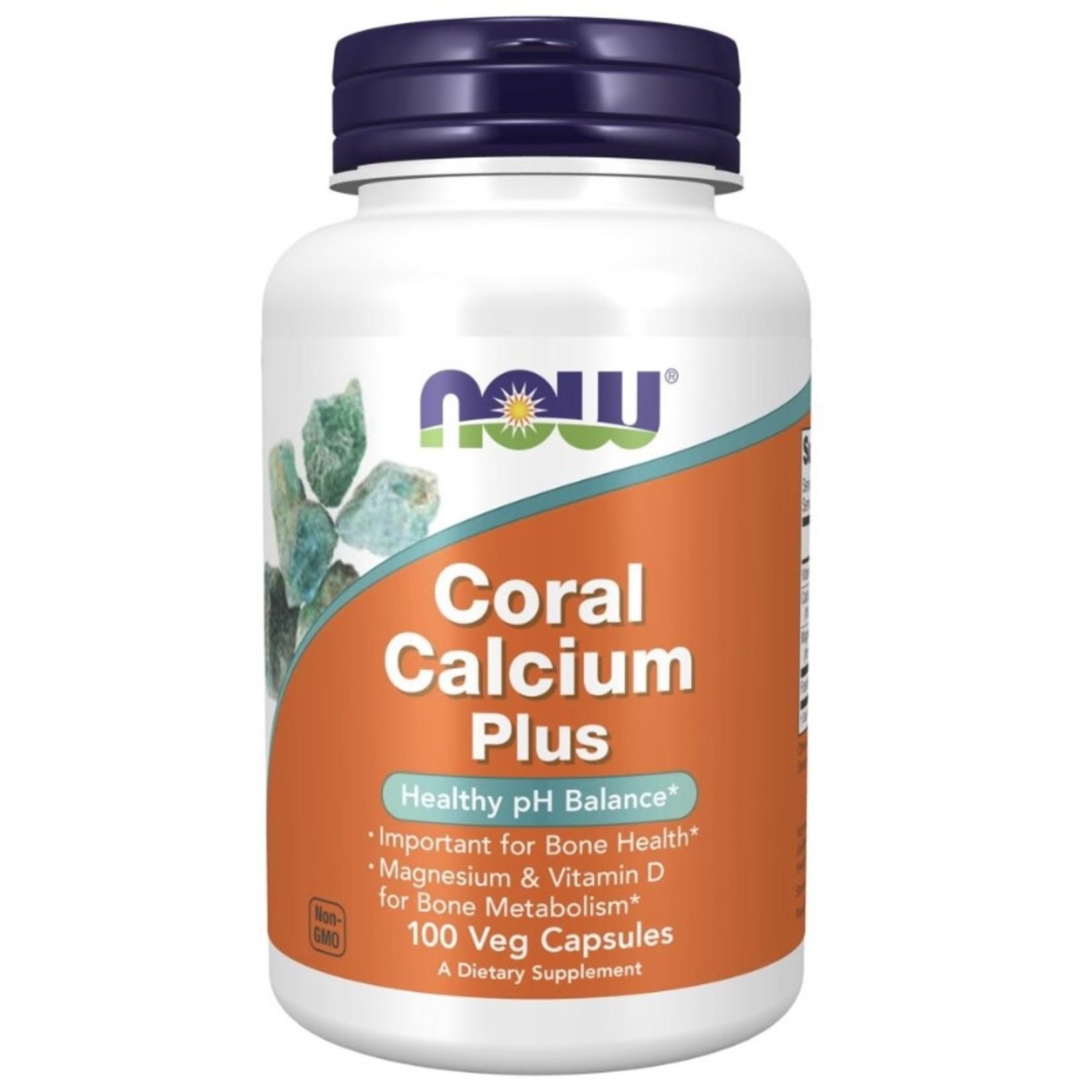 Now Now Coral Calcium Plus 100 caps