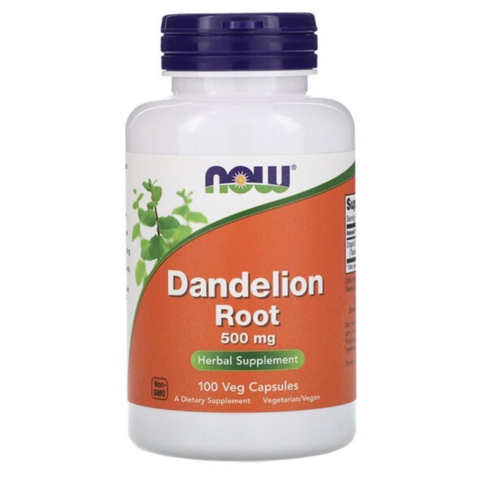 Now Now Dandelion Root 500mg 100 caps