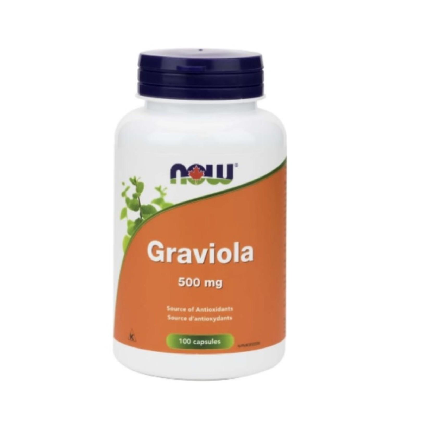 Now Now Graviola 500mg 100 caps