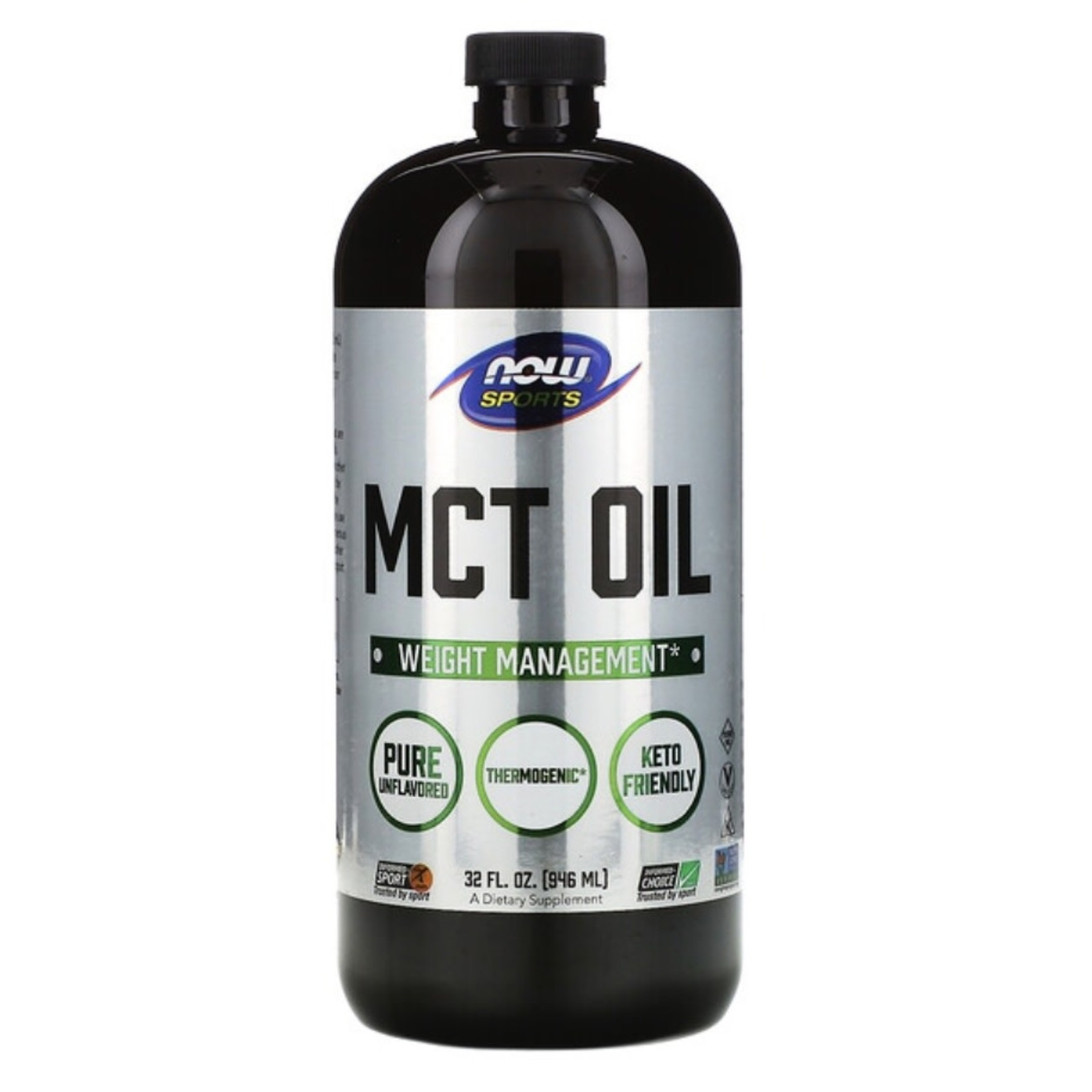 Now Now Sports MCT Oil 946 ml
