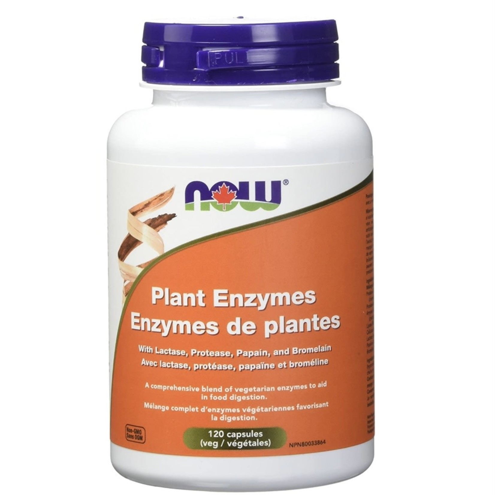 Now Now Plant Enzymes 120 caps