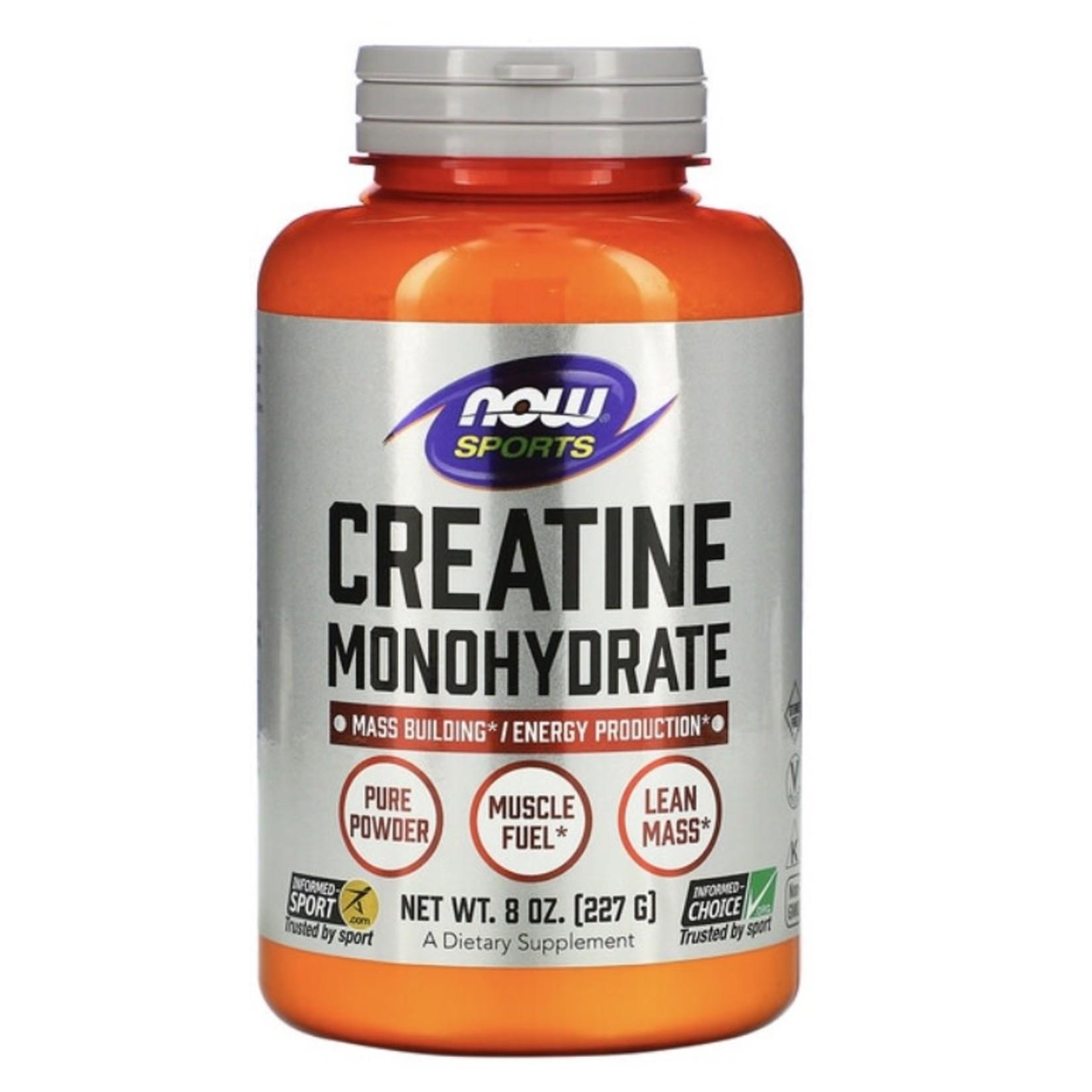 Now Now Creatine Monohydrate 227g
