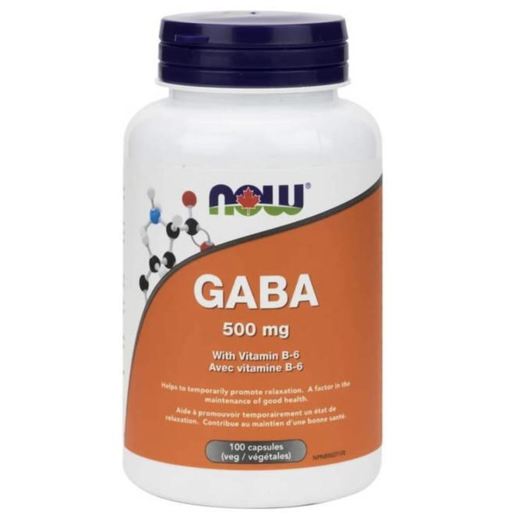 Now Now GABA 500mg 100 caps