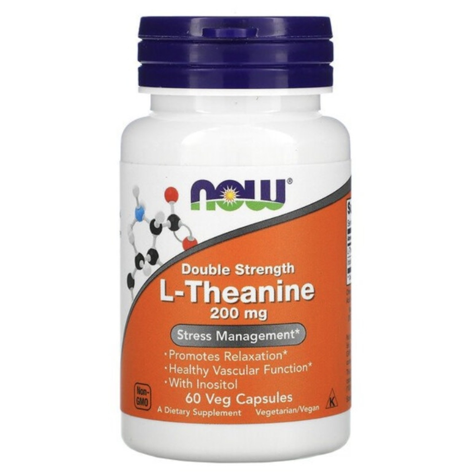 Now Now L-Theanine 200mg 60 caps