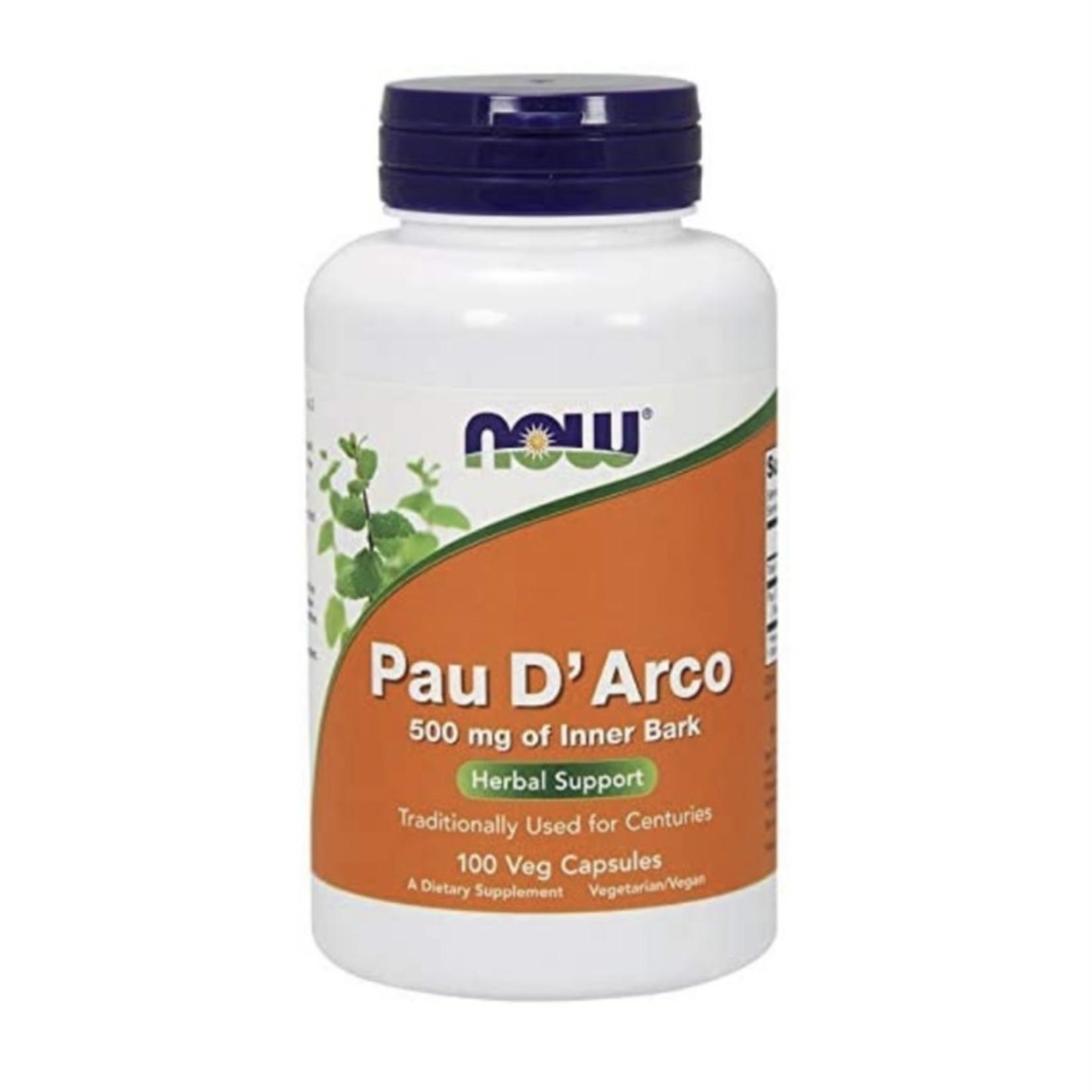 Now Now Pau D' Arco 500mg 100 caps