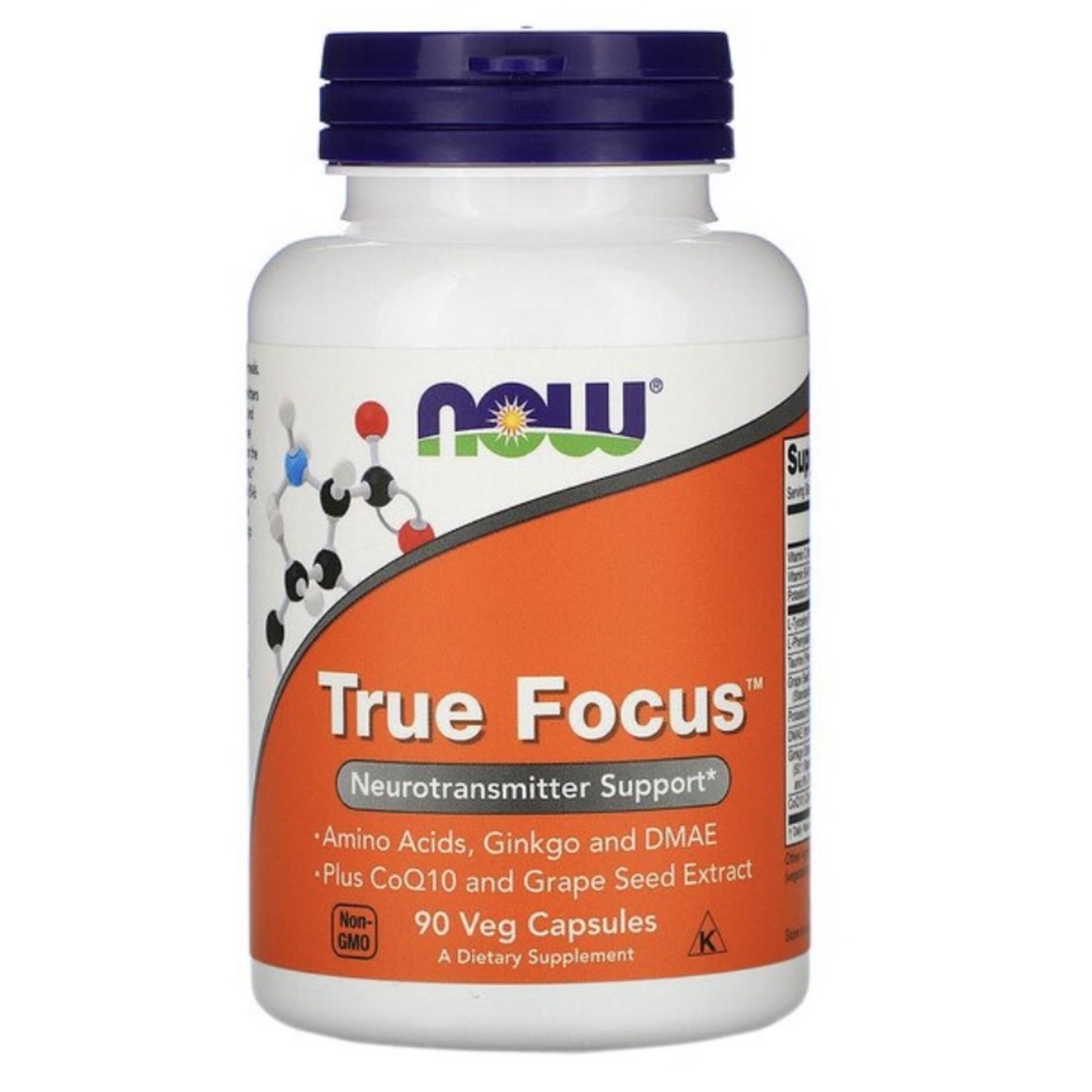 Now Now True Focus 90 caps